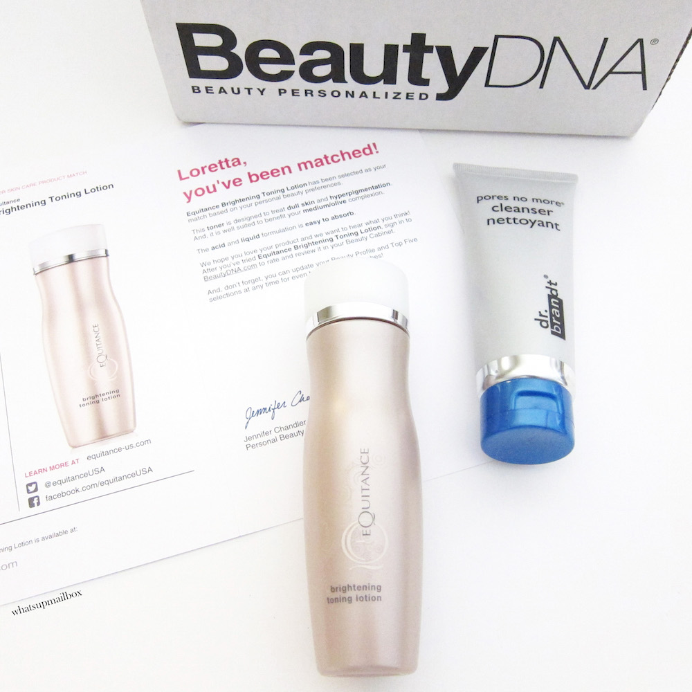 Beauty DNA August 2015 Review!