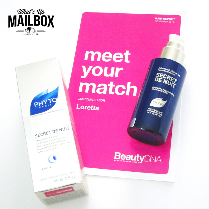 Beauty DNA December 2015 Review!