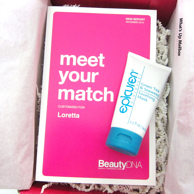 Beauty DNA January 2016 Review!