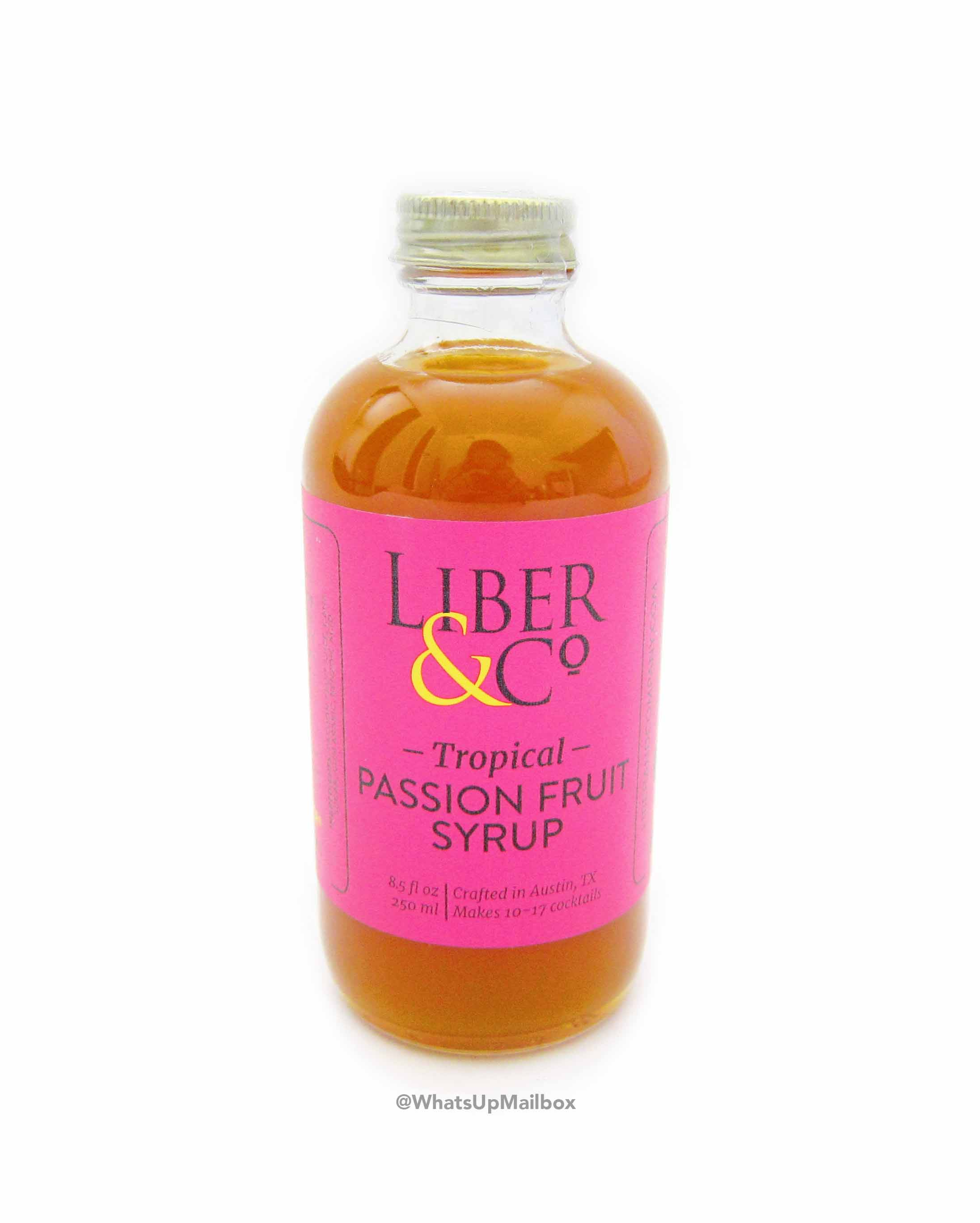 Liber & Co. Tropical Passion Fruit Syrup