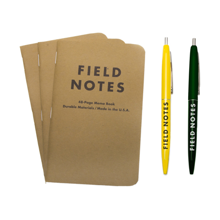 Birchbox Man Gift With Subscription - Free Field Notes Pen & Notepad!