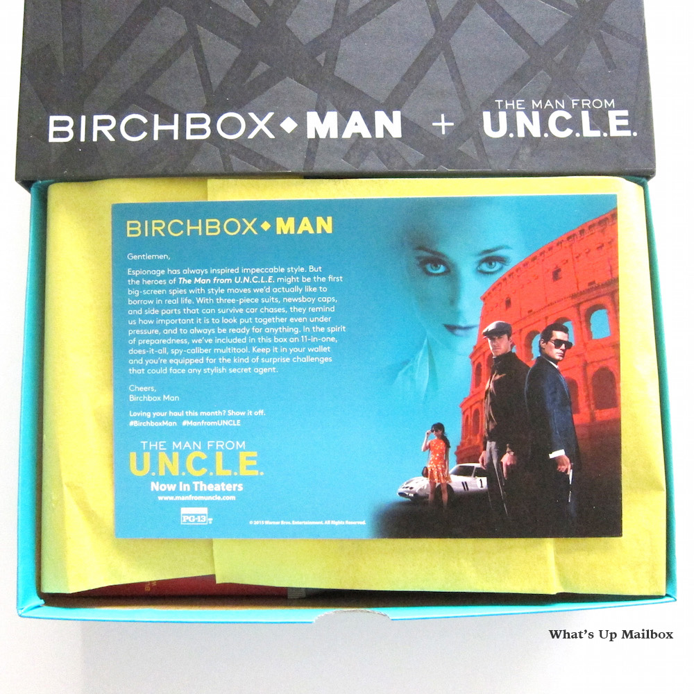 Birchbox Man September 2015