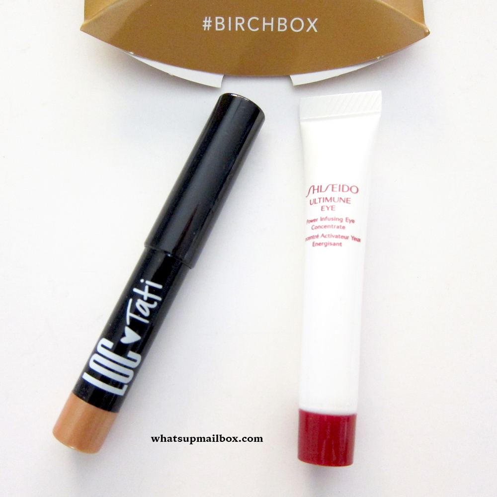 LOC Shadow Stick & Shiseido Ultimune Eye