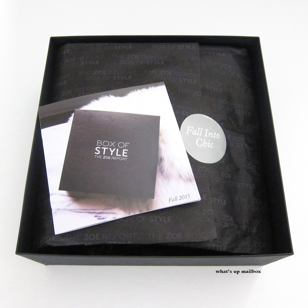 Box of Style Fall 2015 First Look