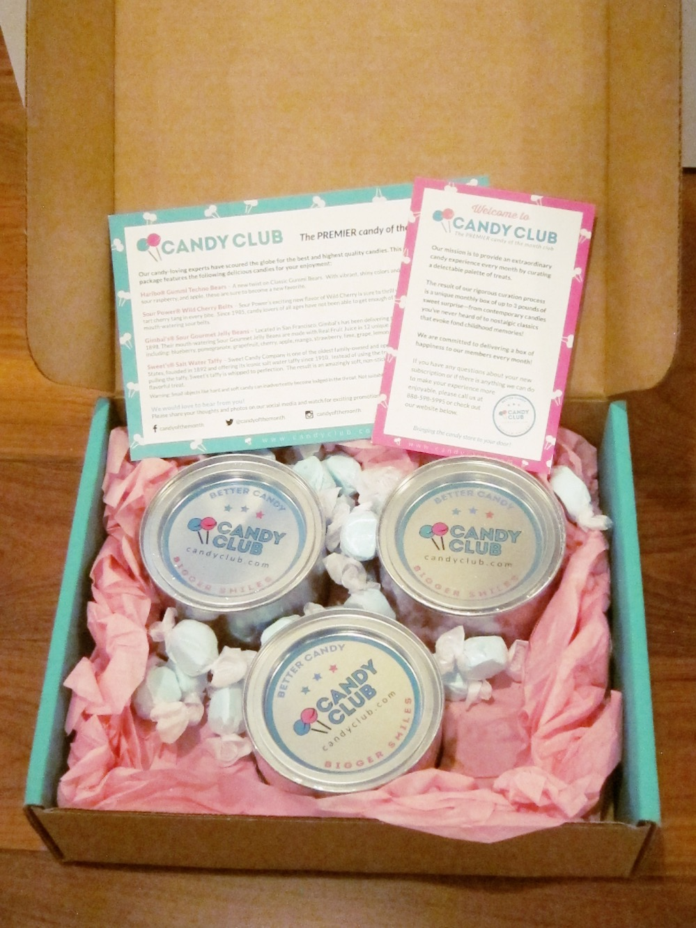 Candy Club May 2015 Box
