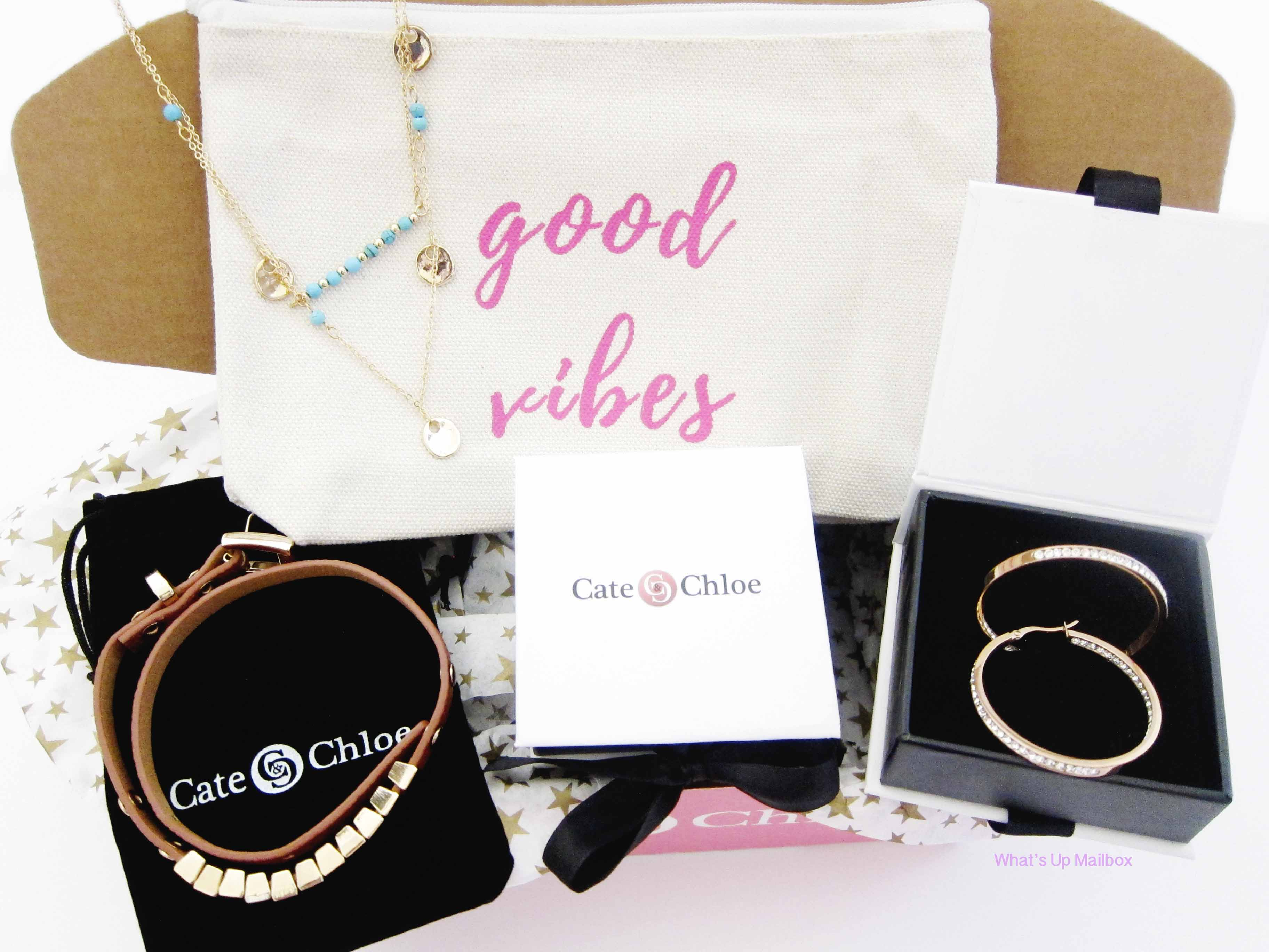 Cate & Chloe VIP Box July 2016 Review + Coupon!