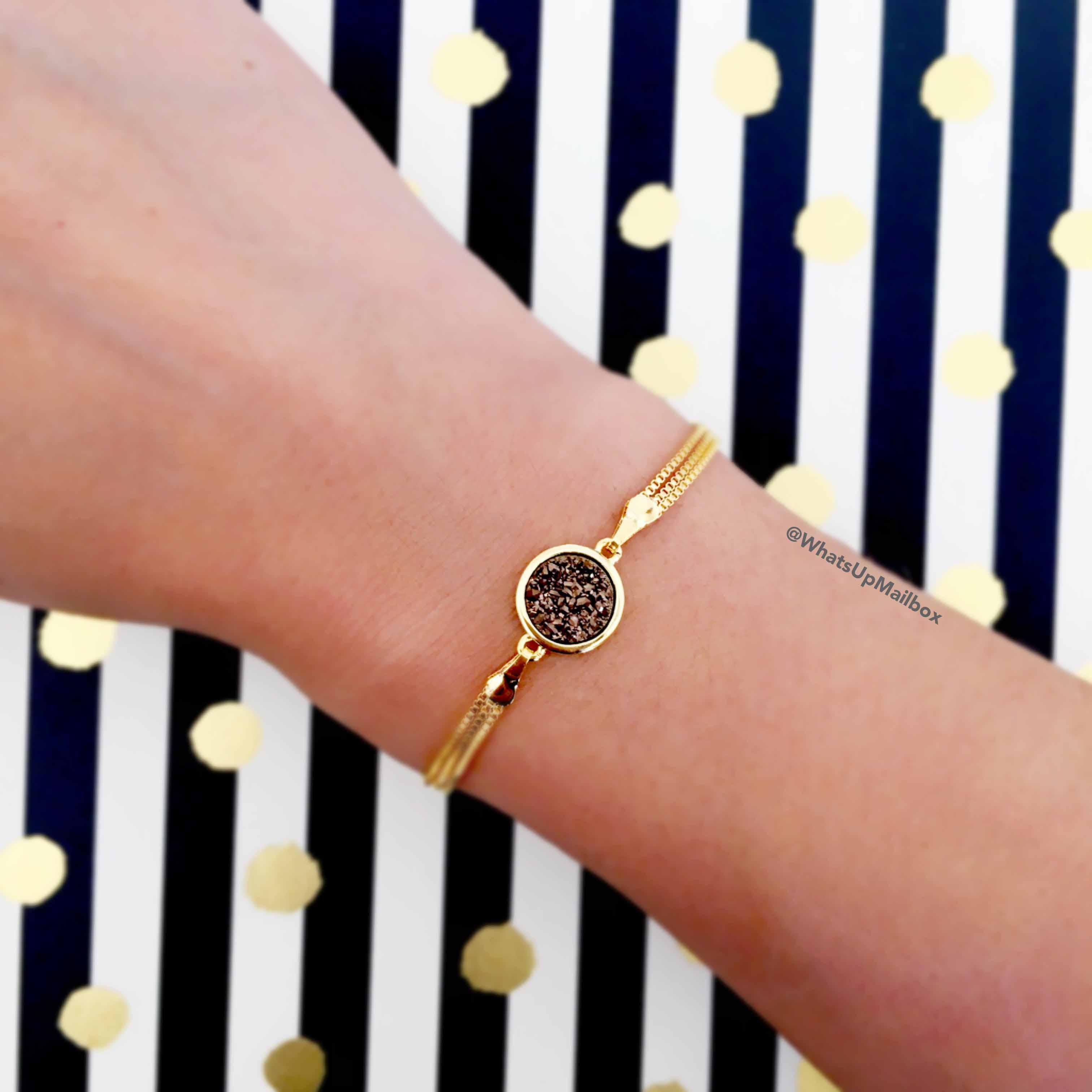 Cate & Chloe Aria Valiant Druzy Bracelet