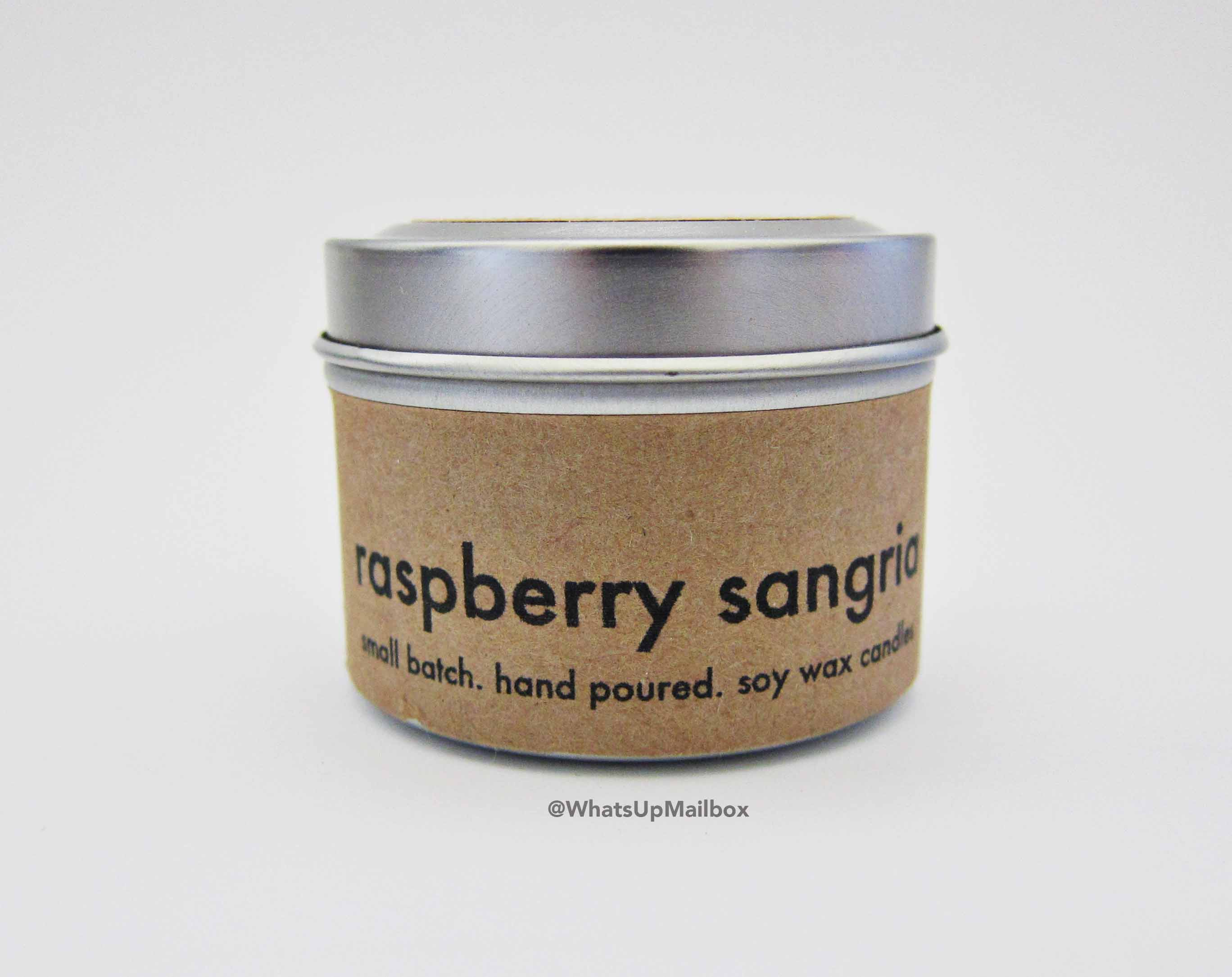 Kelli Marie Design Raspberry Sangria Hand Poured Soy Wax Candle