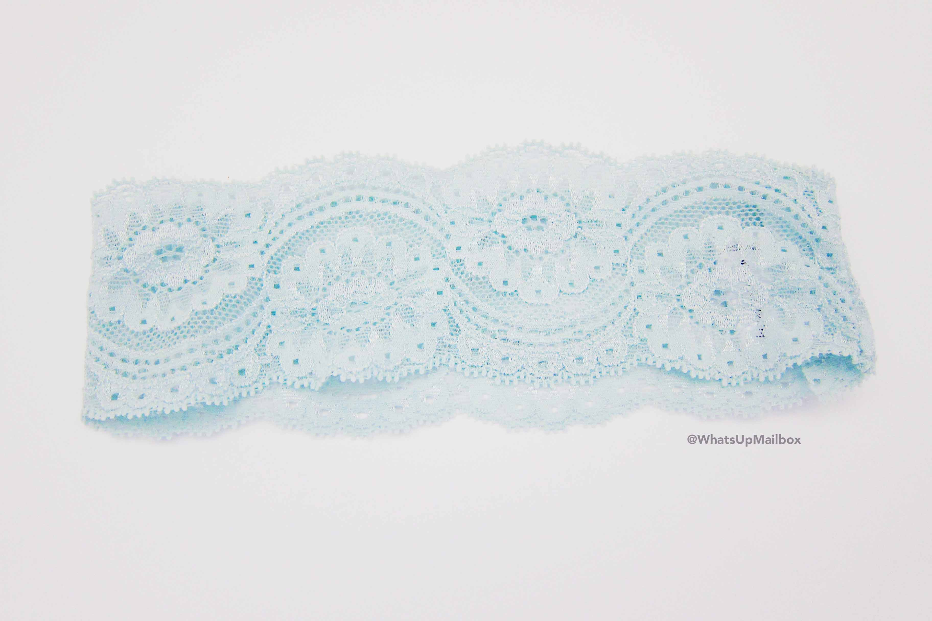 Little White Feather Shop Thin Lace Stretch Headband