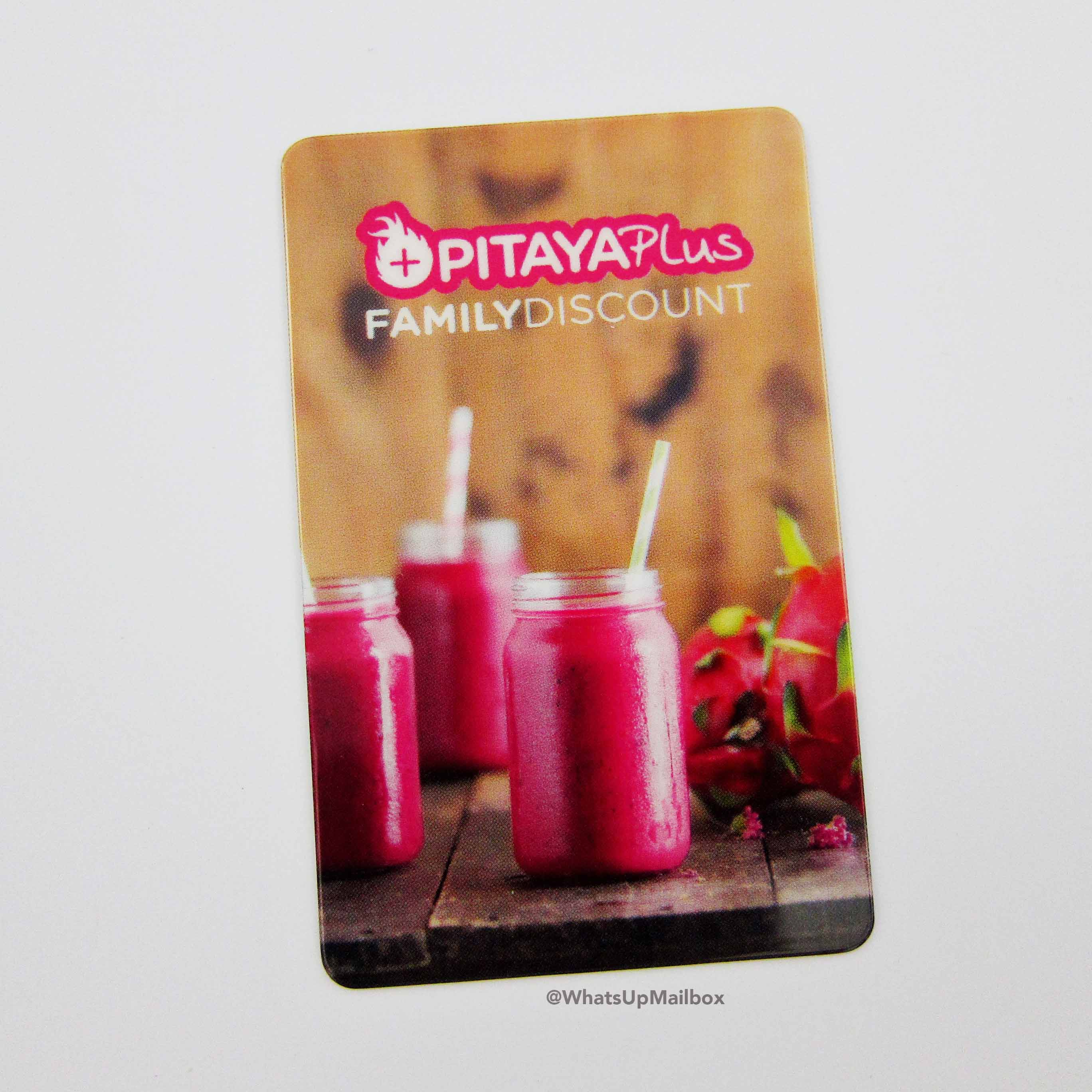 Pitaya Plus Coupon Card