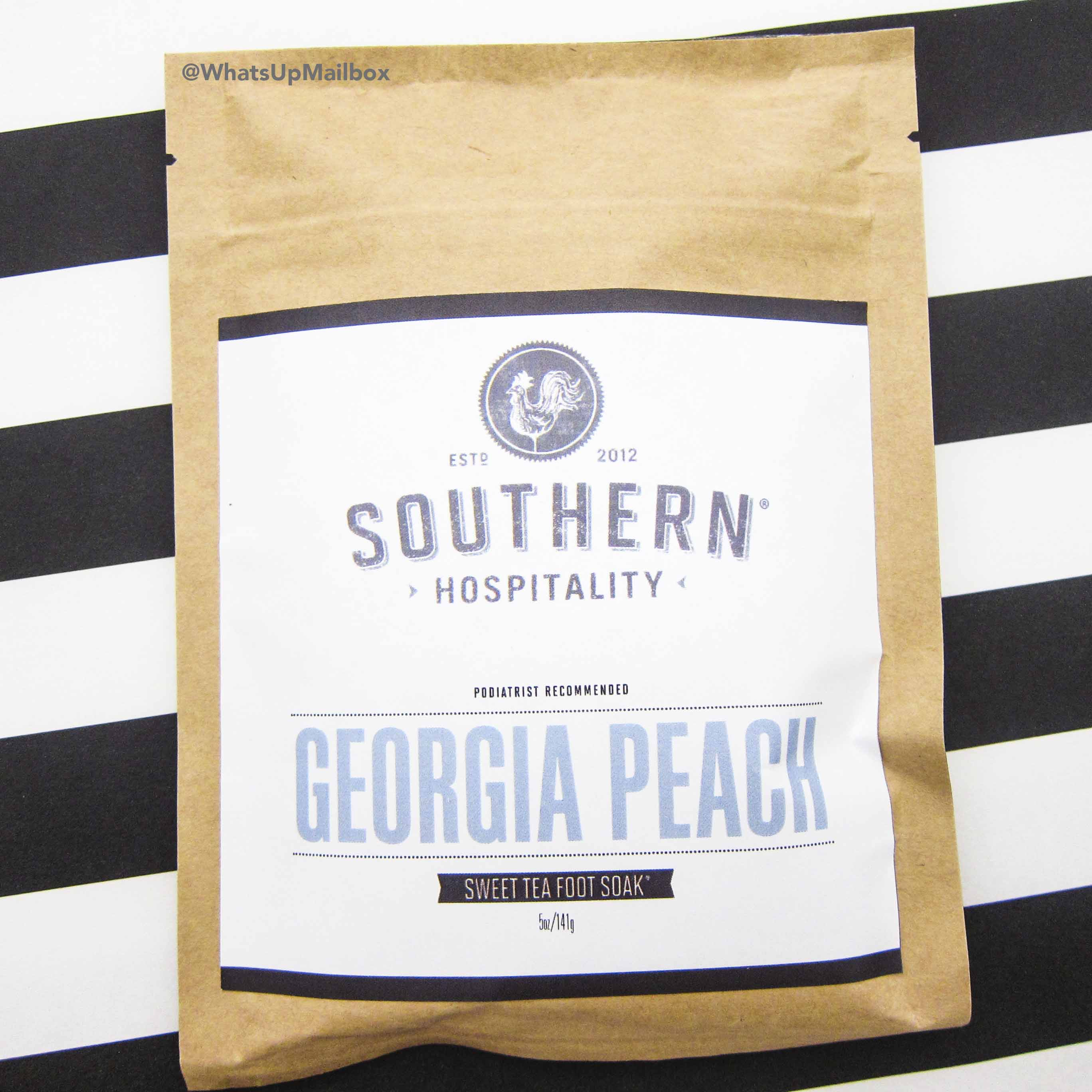 Southern Hospitality - Sweet Tea Foot Soak in Georgia Peach