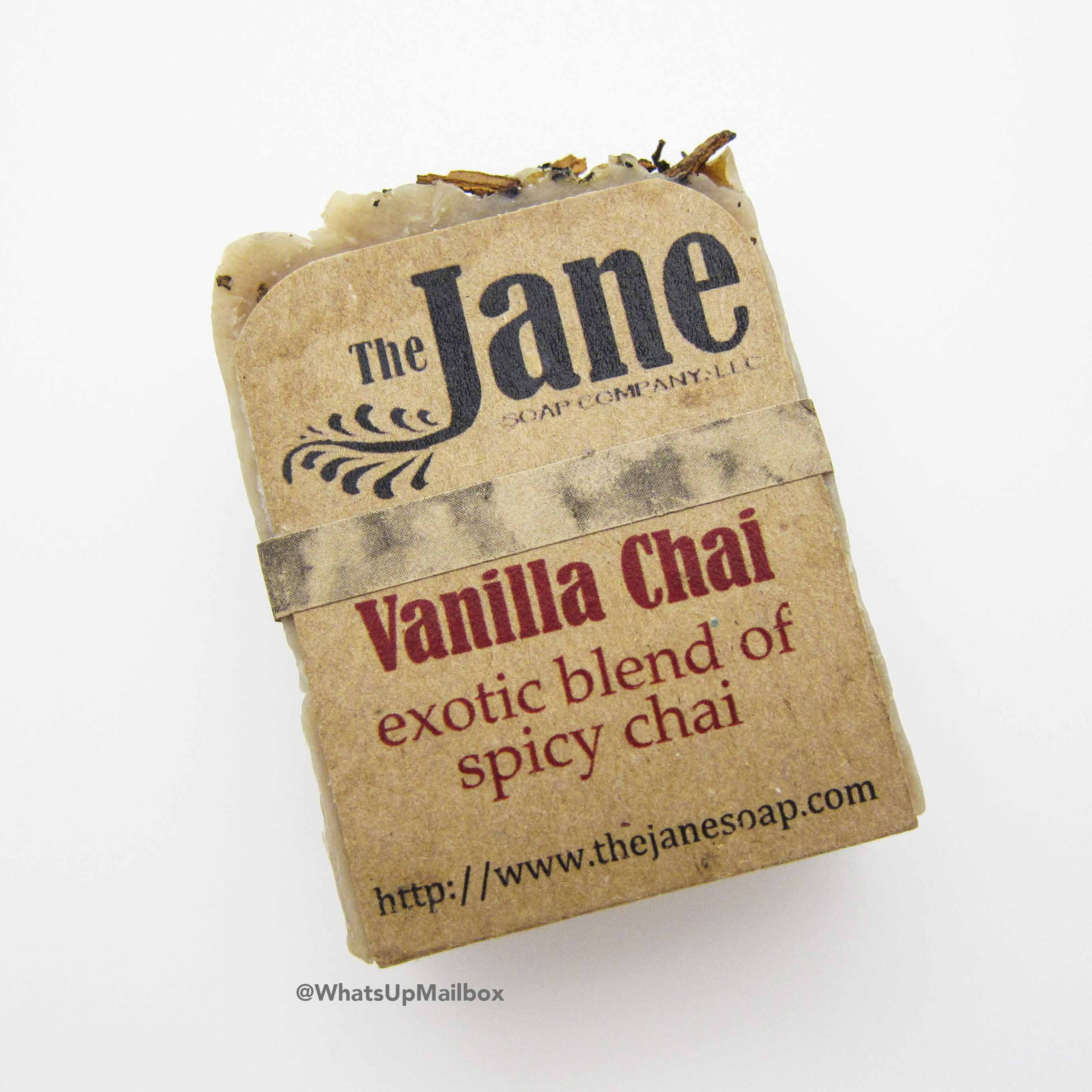 The Jane Soap Company - Vanilla Chai Soap Bar