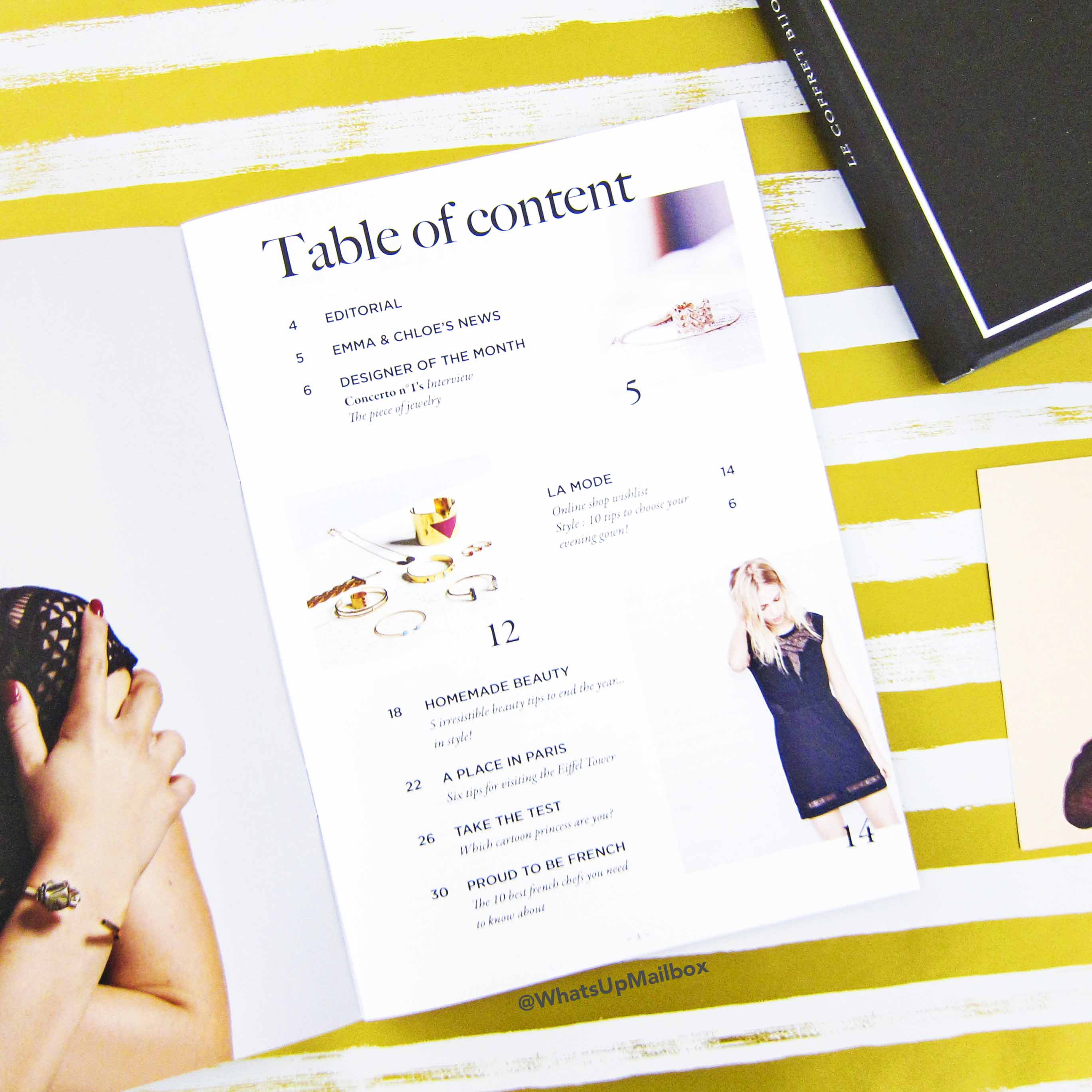 Emma & Chloe Info Magazine