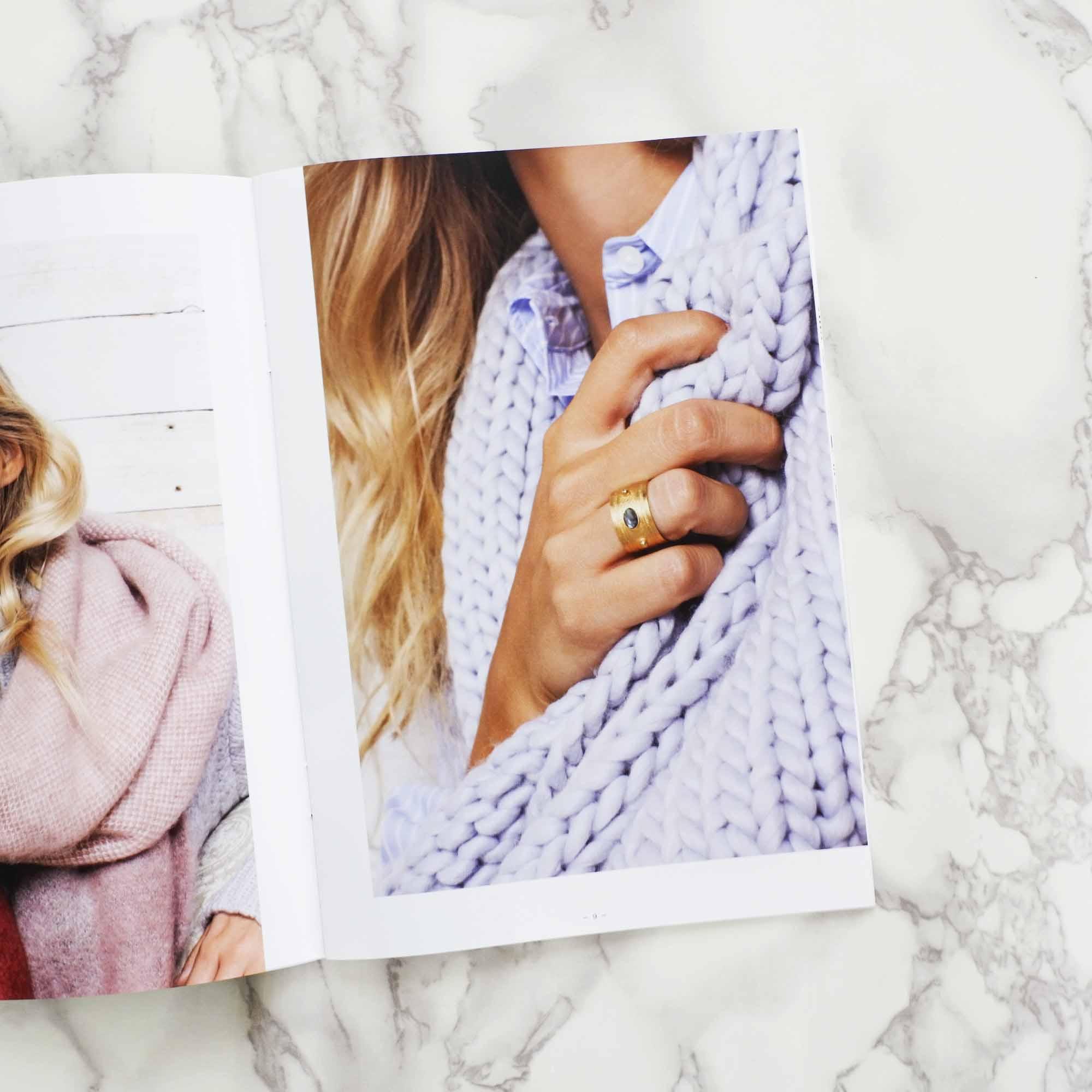 Emma & Chloe January 2017 Item - L'Atelier Clandestin Gold Ring