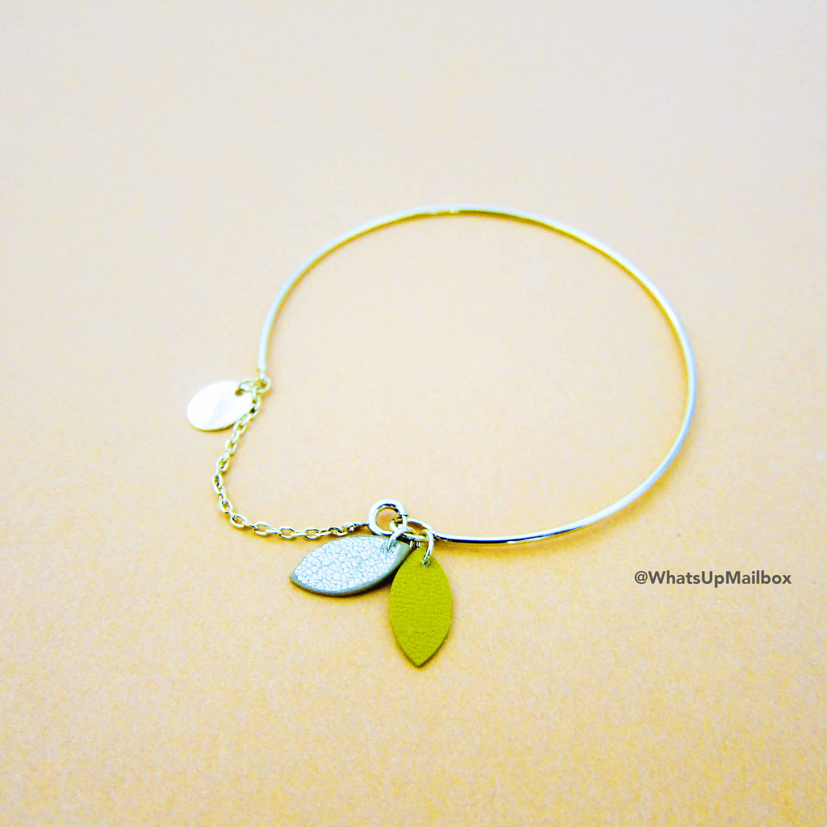 Emma & Chloe September 2016 Item - May & June Tumen Bracelet in Gold