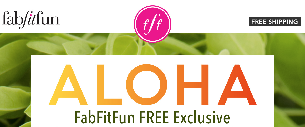 FabFitFun Exclusive - Get a FREE ALOHA Superfood Smoothie Kit!