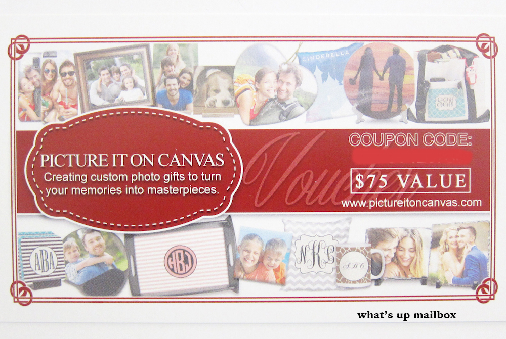 Gift Card by Picture It On Canvas