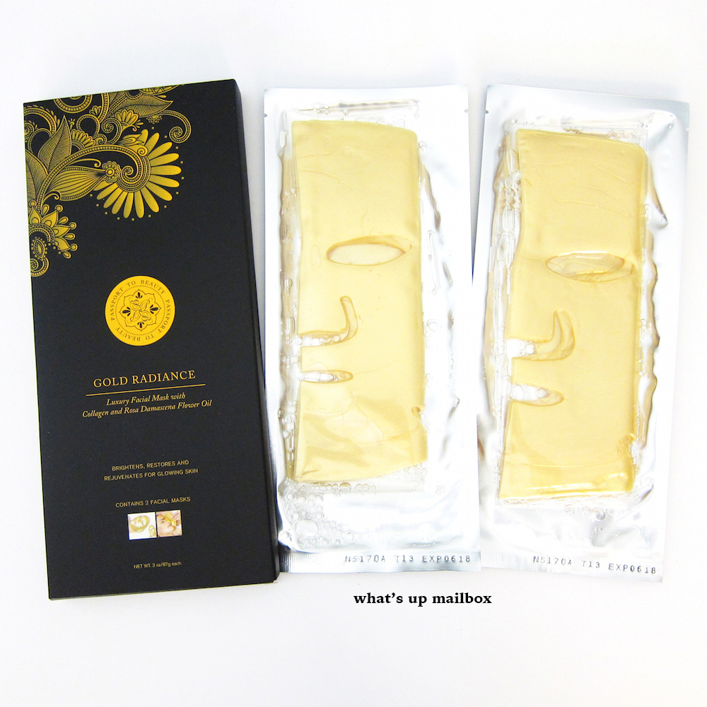 Gold Radiance Luxury Facial Mask by Passport to Beauty