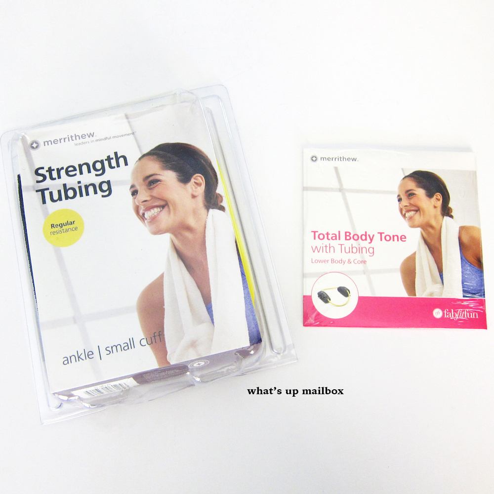 Strength Tubing Ankle & Total Body Tone DVD by Merrithew