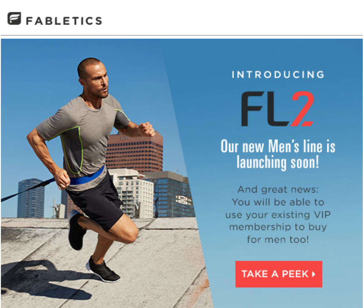 Fabletics FL2 Announcement