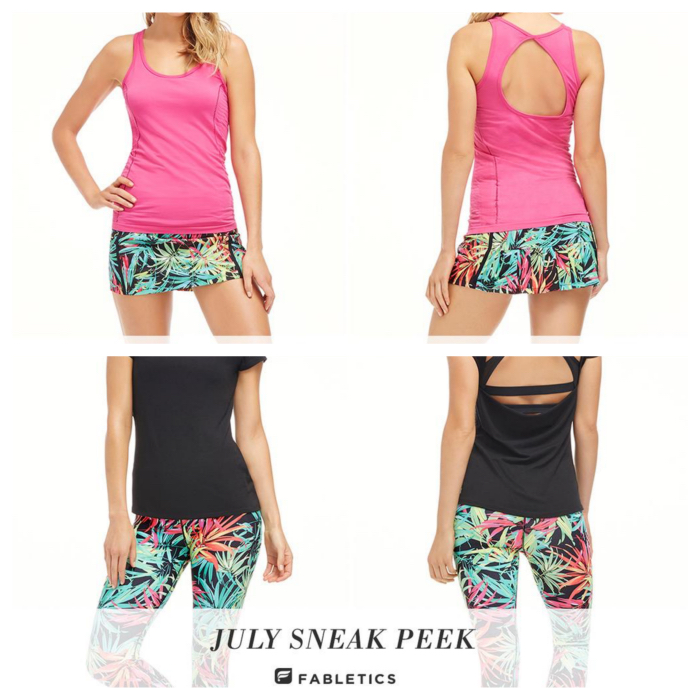 Fabletics July 2015 Sneak Peek + 50% Off!