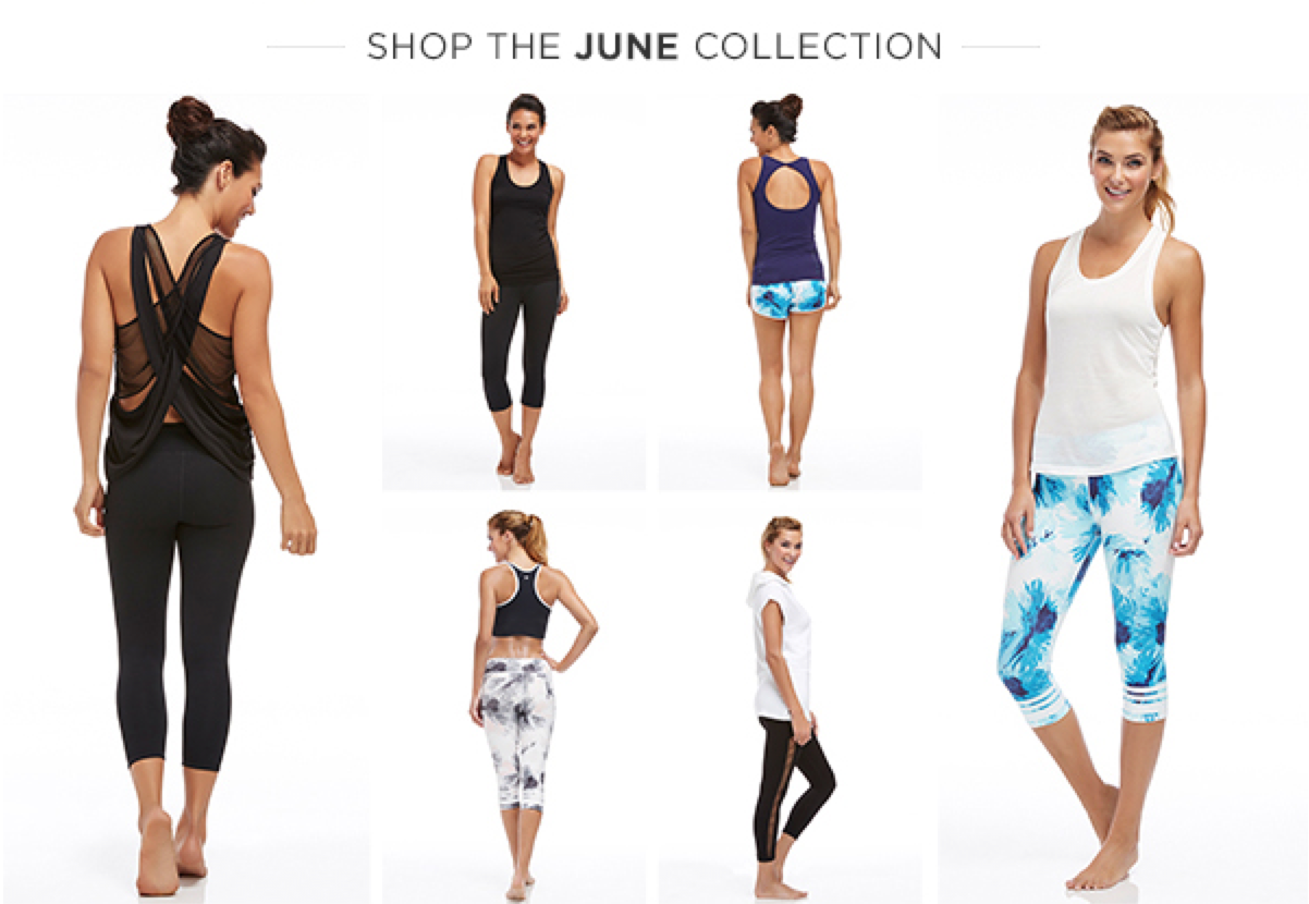 Fabletics June 2015 Selections!