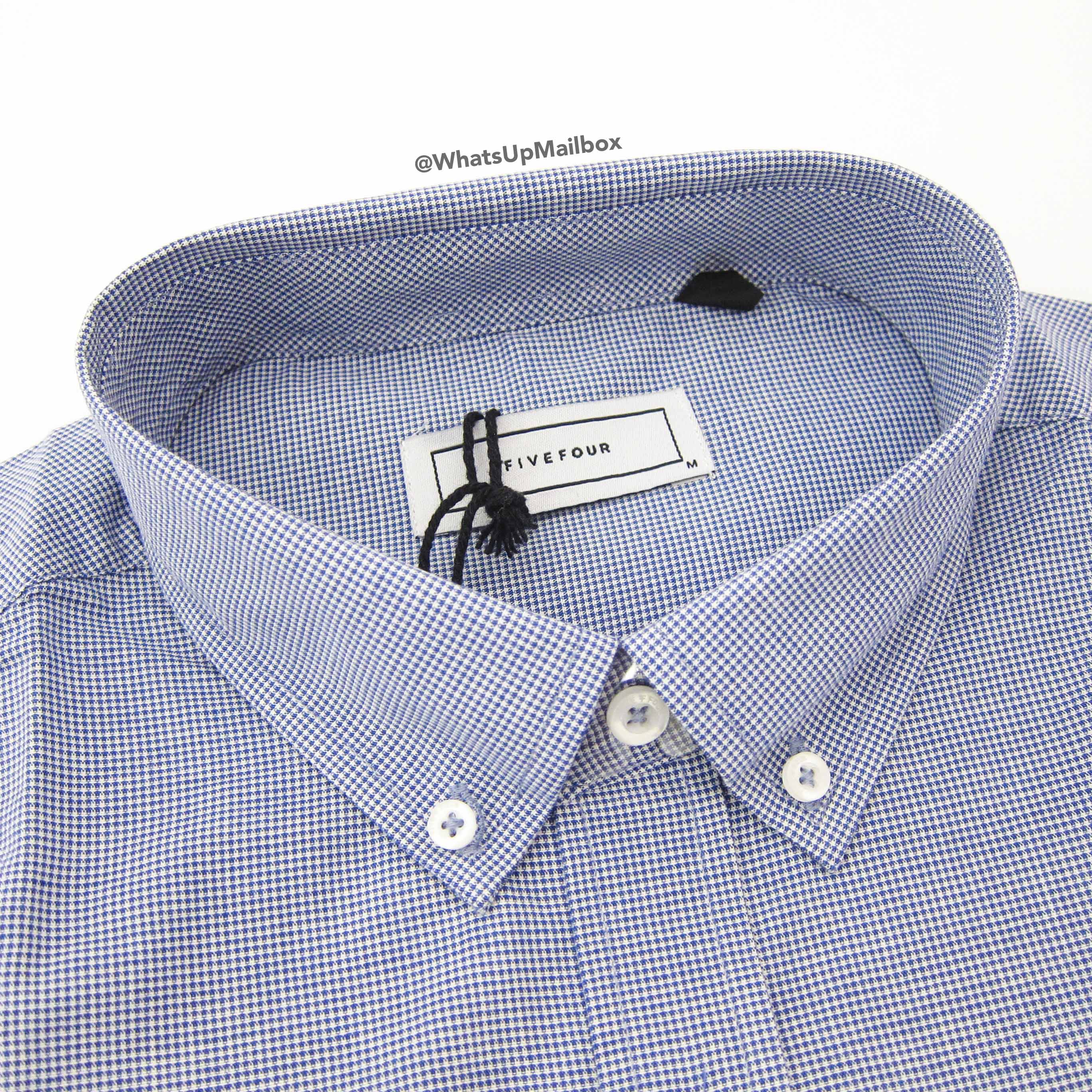 Five Four Club Boswell Navy Shirt