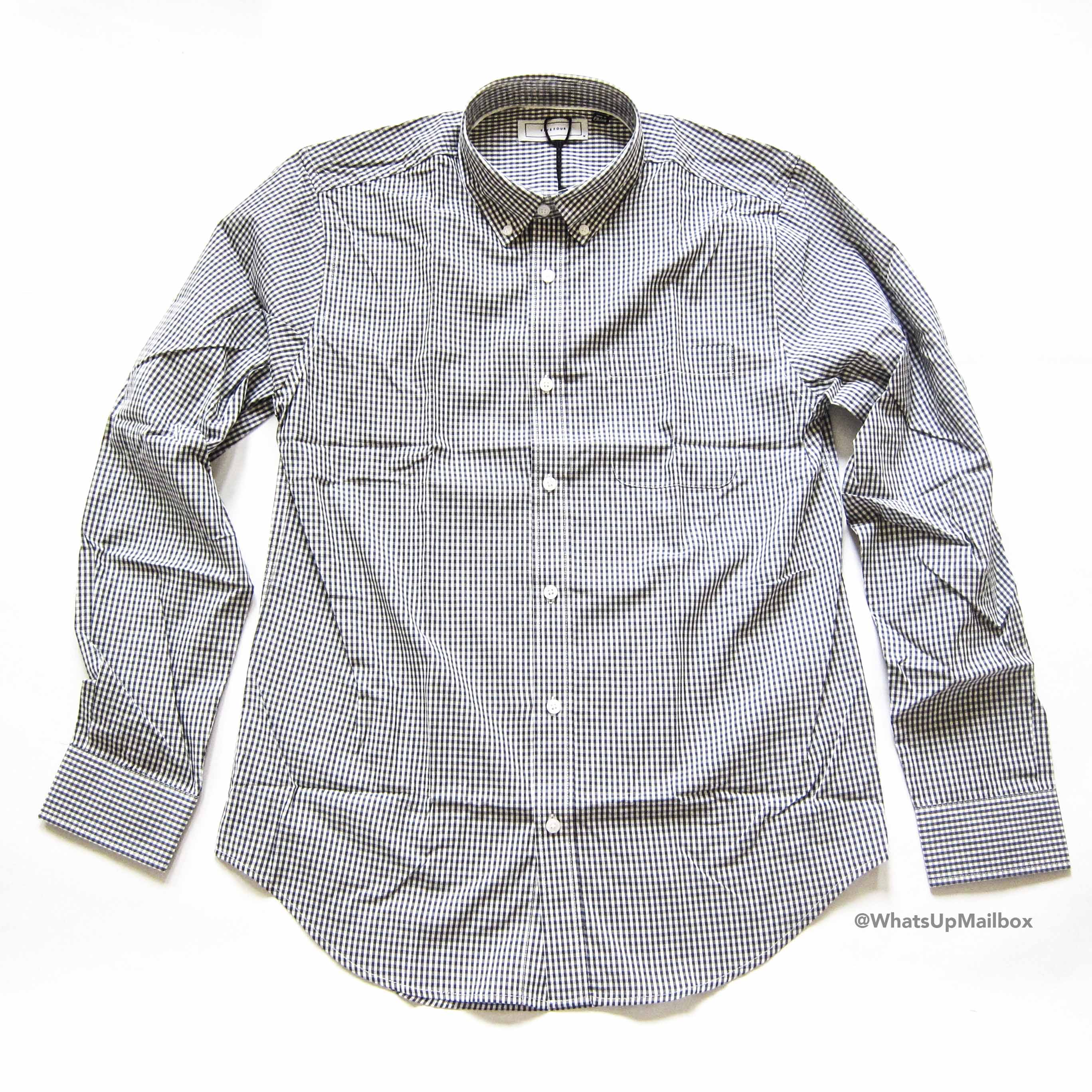 Five Four Club Adamson Dress Shirt Gray