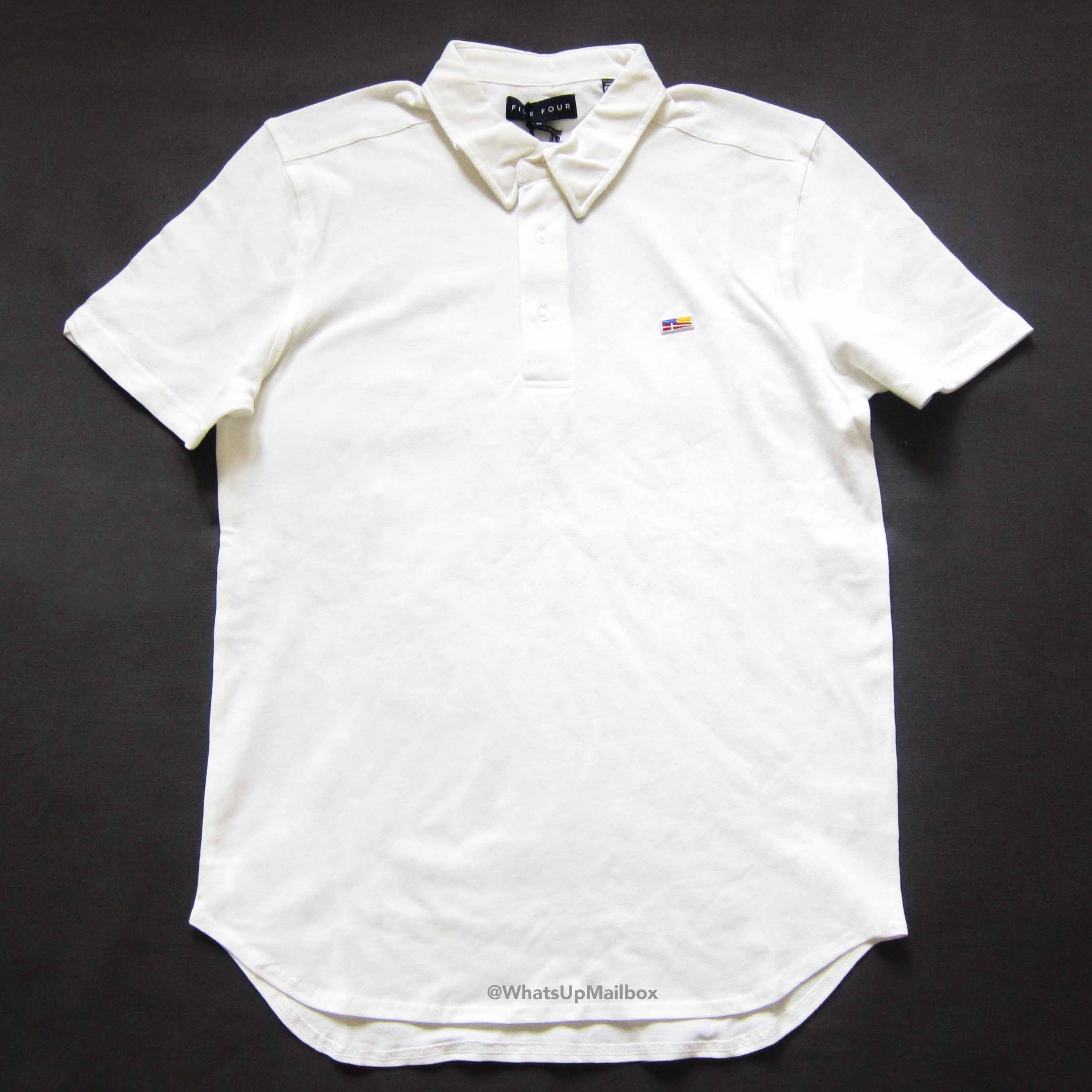 Five Four Club Wainscott White Polo