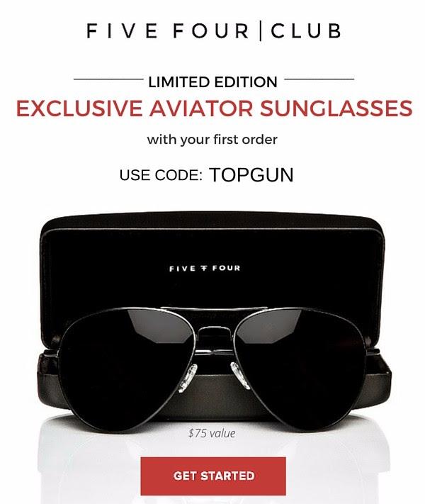 Five Four Club Free Aviator Sunglasses Coupon!