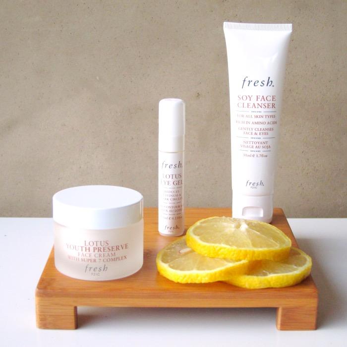 Fresh Lotus Youth Preserve Skincare Kit Review