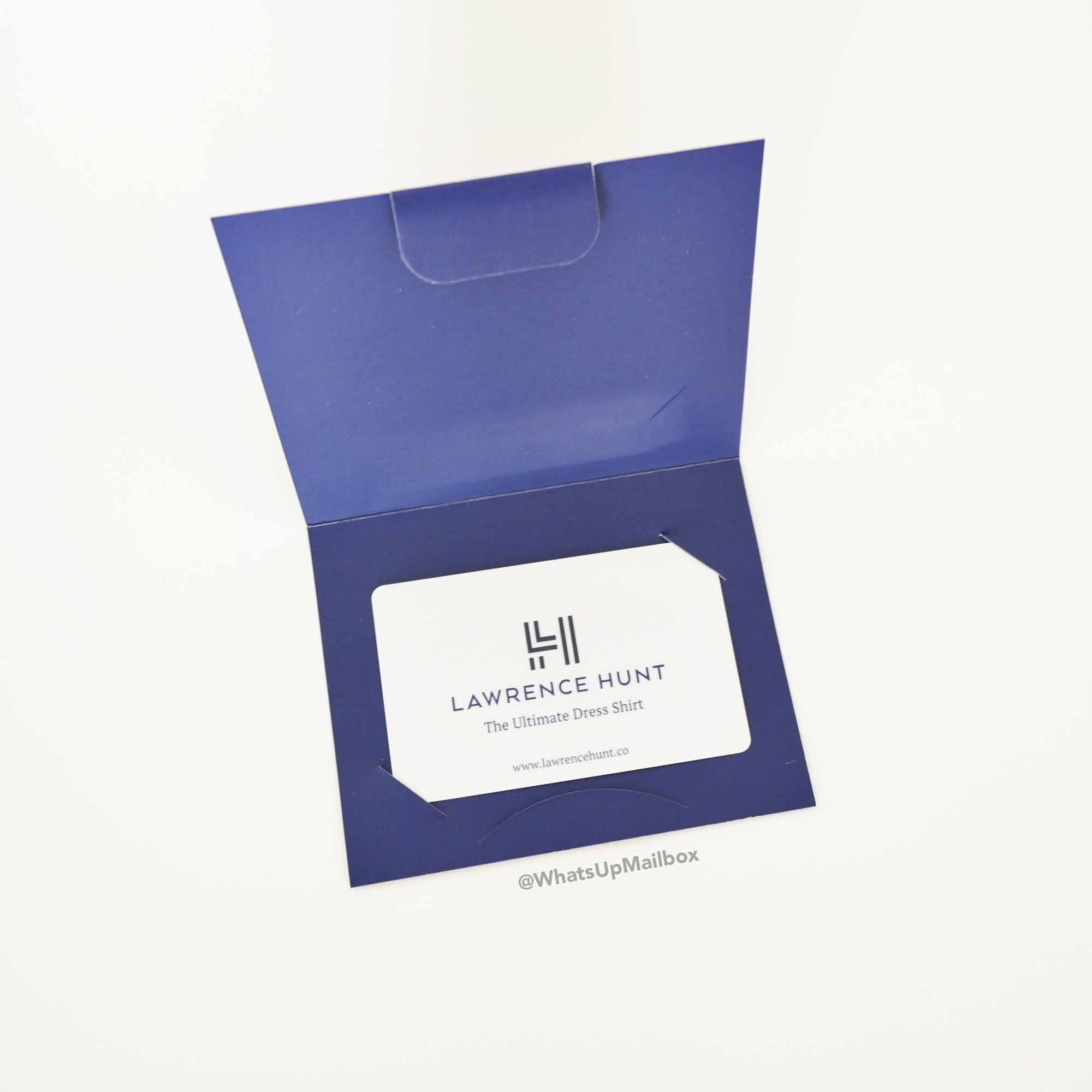Lawrence Hunt Gift Card