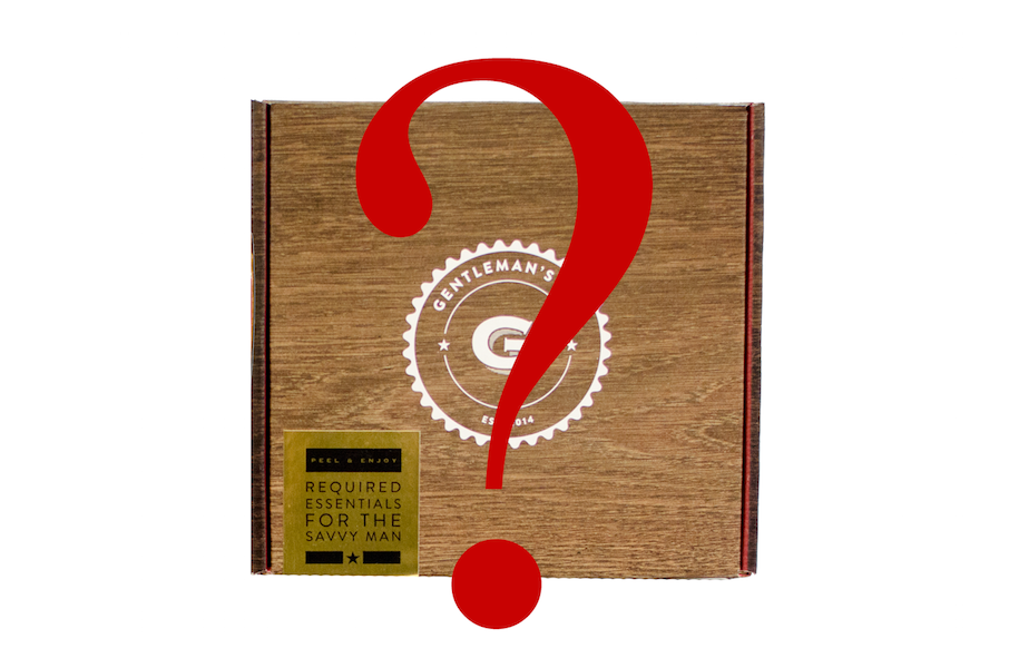 Gentleman's Box $15 Mystery Box Is Back!