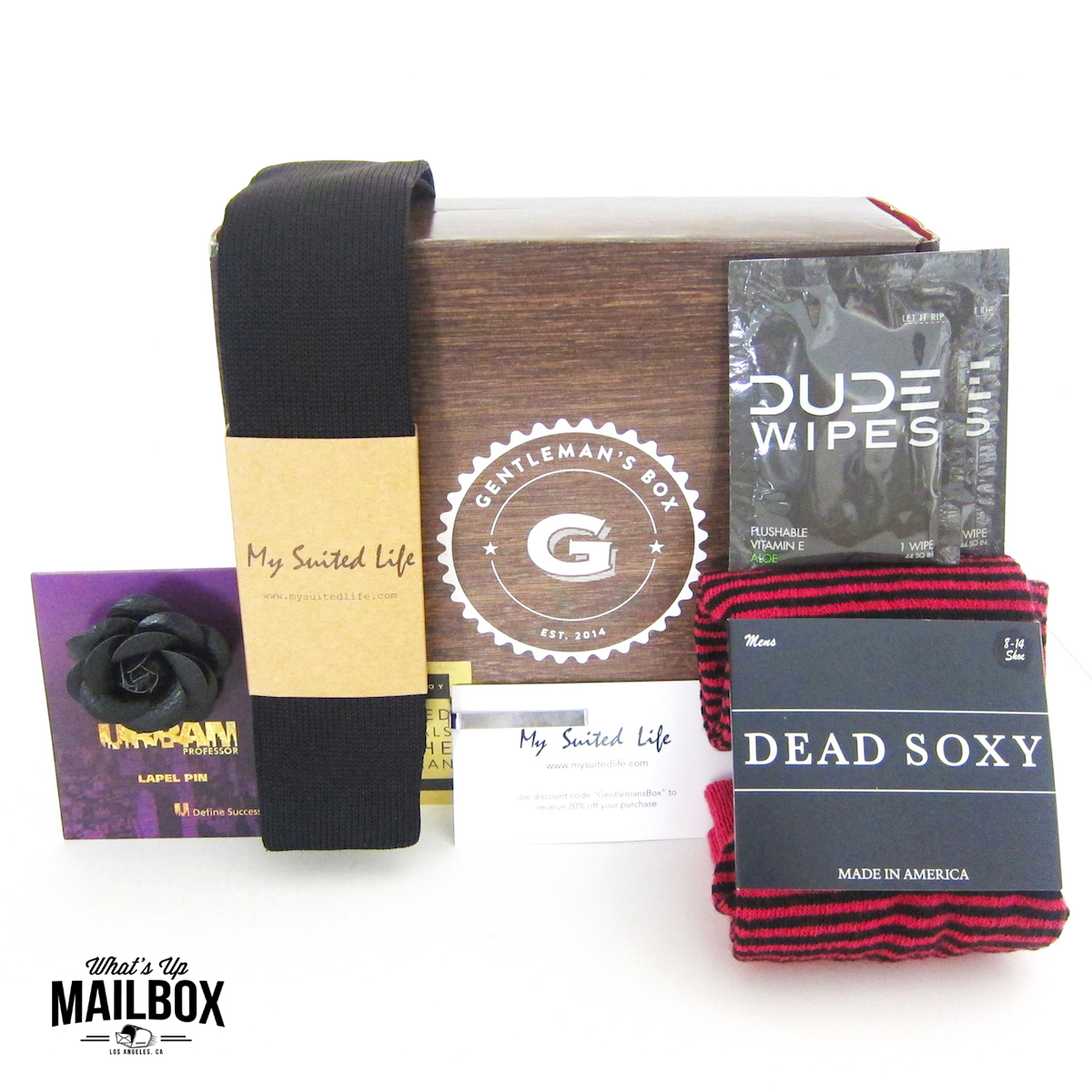 Gentleman's Box February 2016 Review!