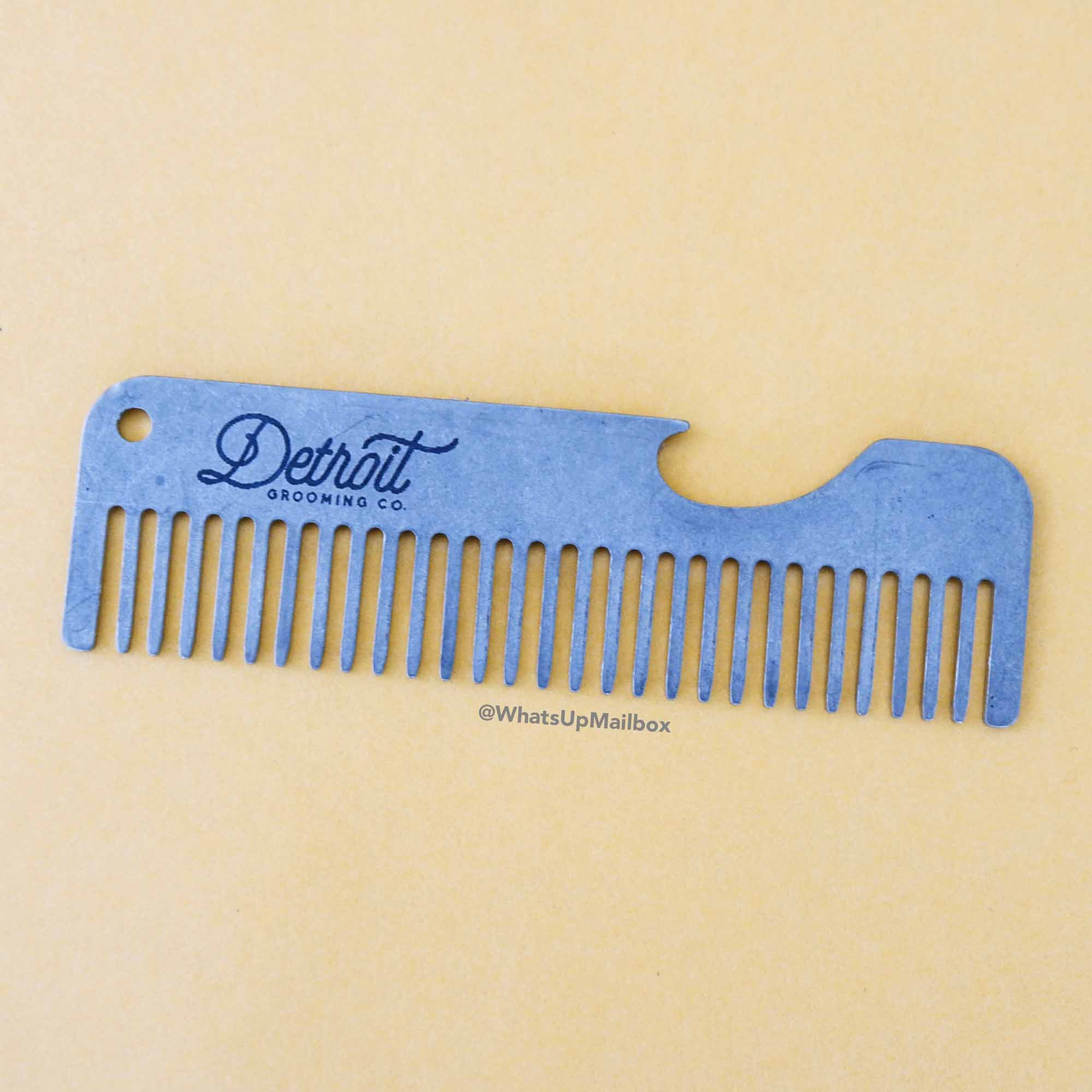Detroit Grooming Co. - Comb/Bottle Opener