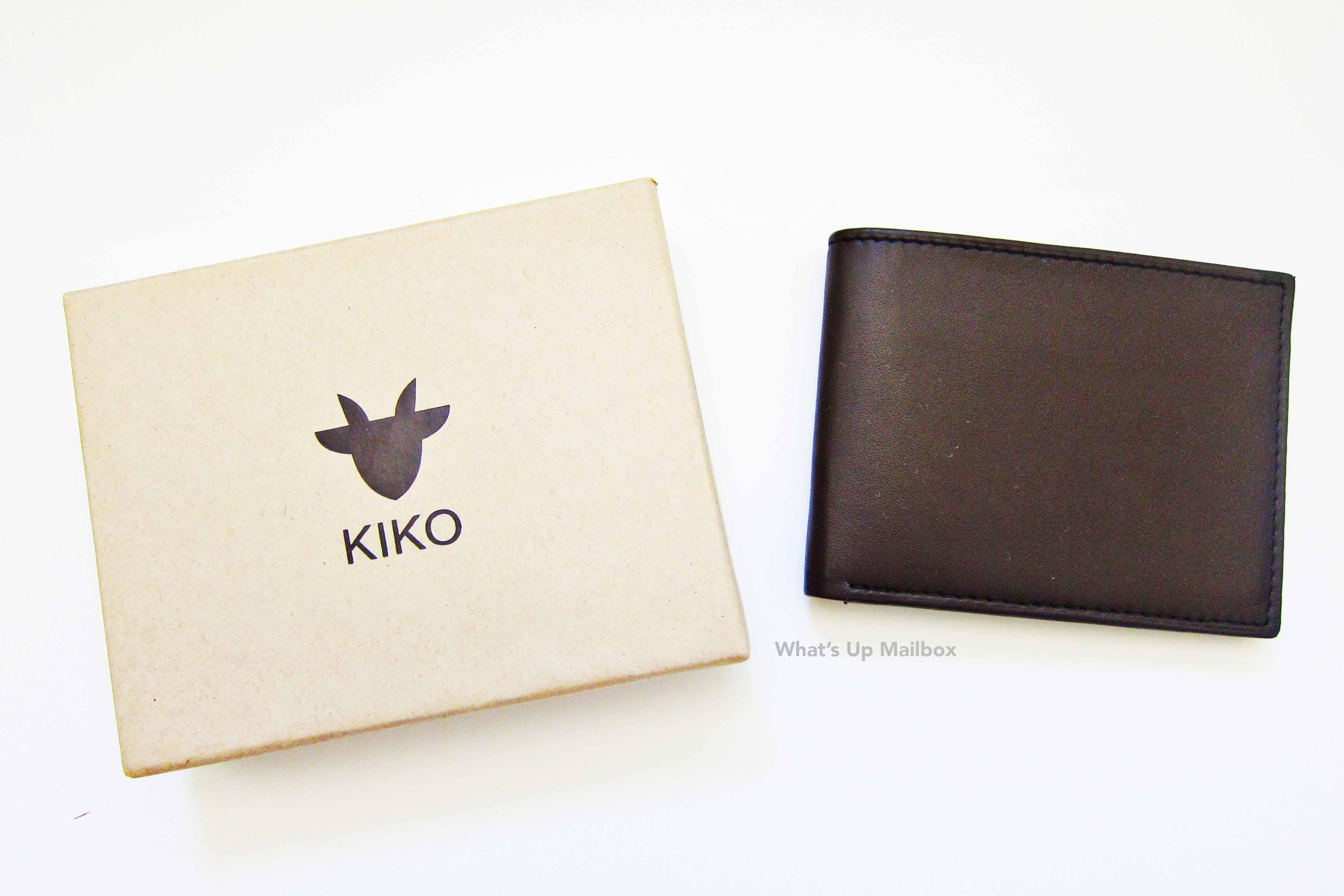 Kiko Brown Leather Wallet