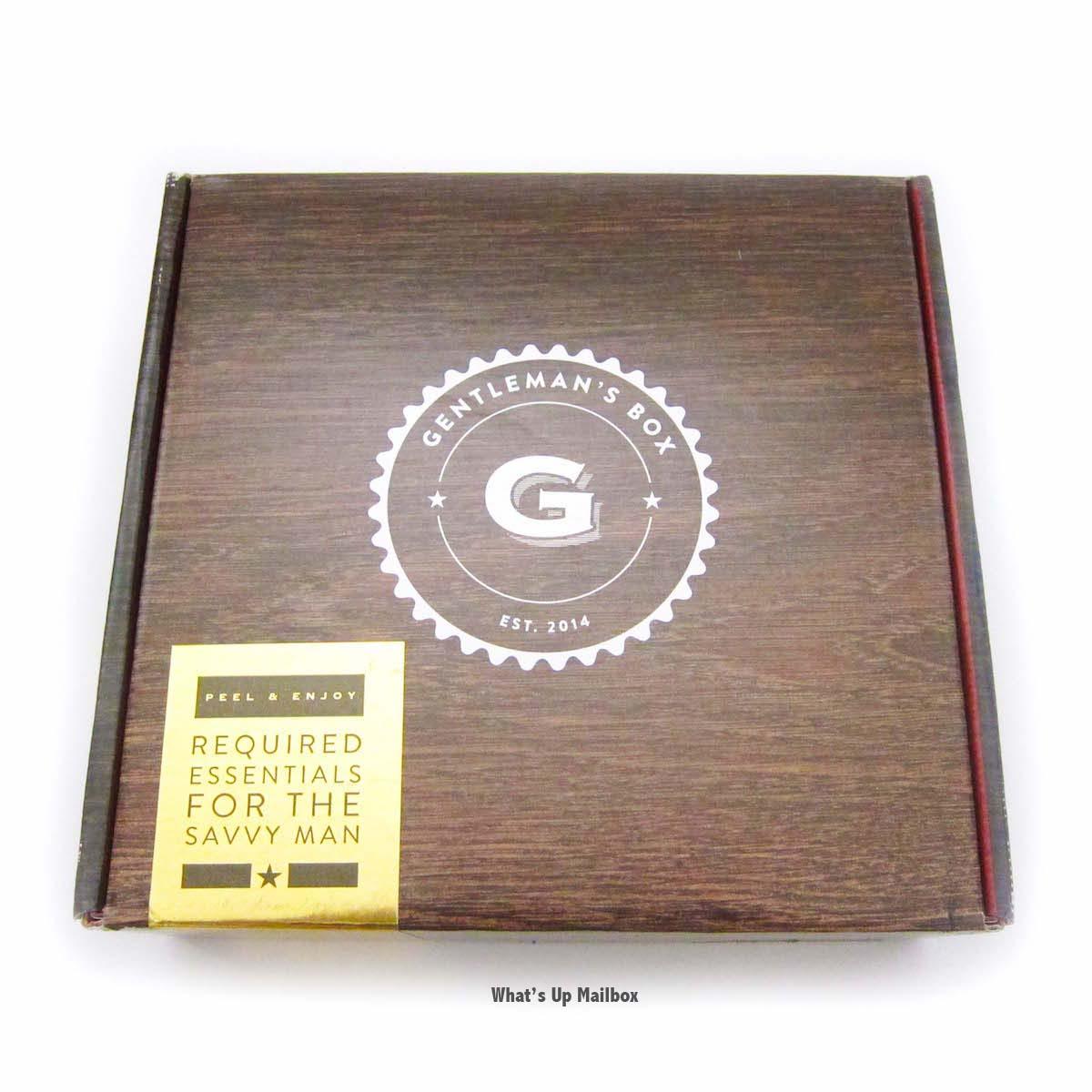 Gentleman's Box June 2016 Box