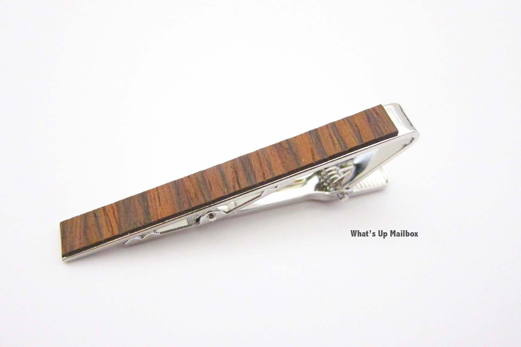 Woodchuck USA Wooden Tie Clip