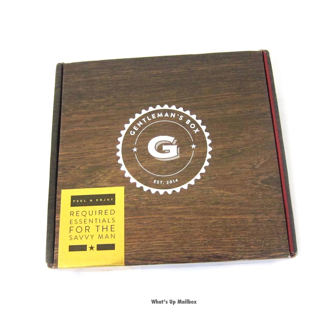 Gentleman's Box May 2016 Box