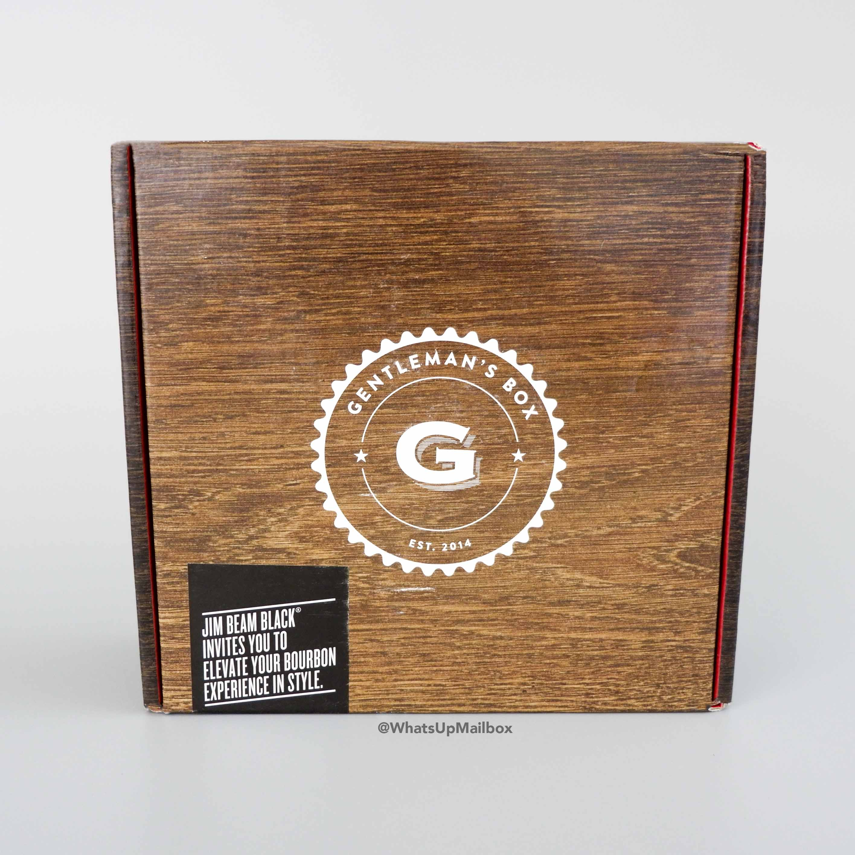 Gentleman's Box May 2017 Box