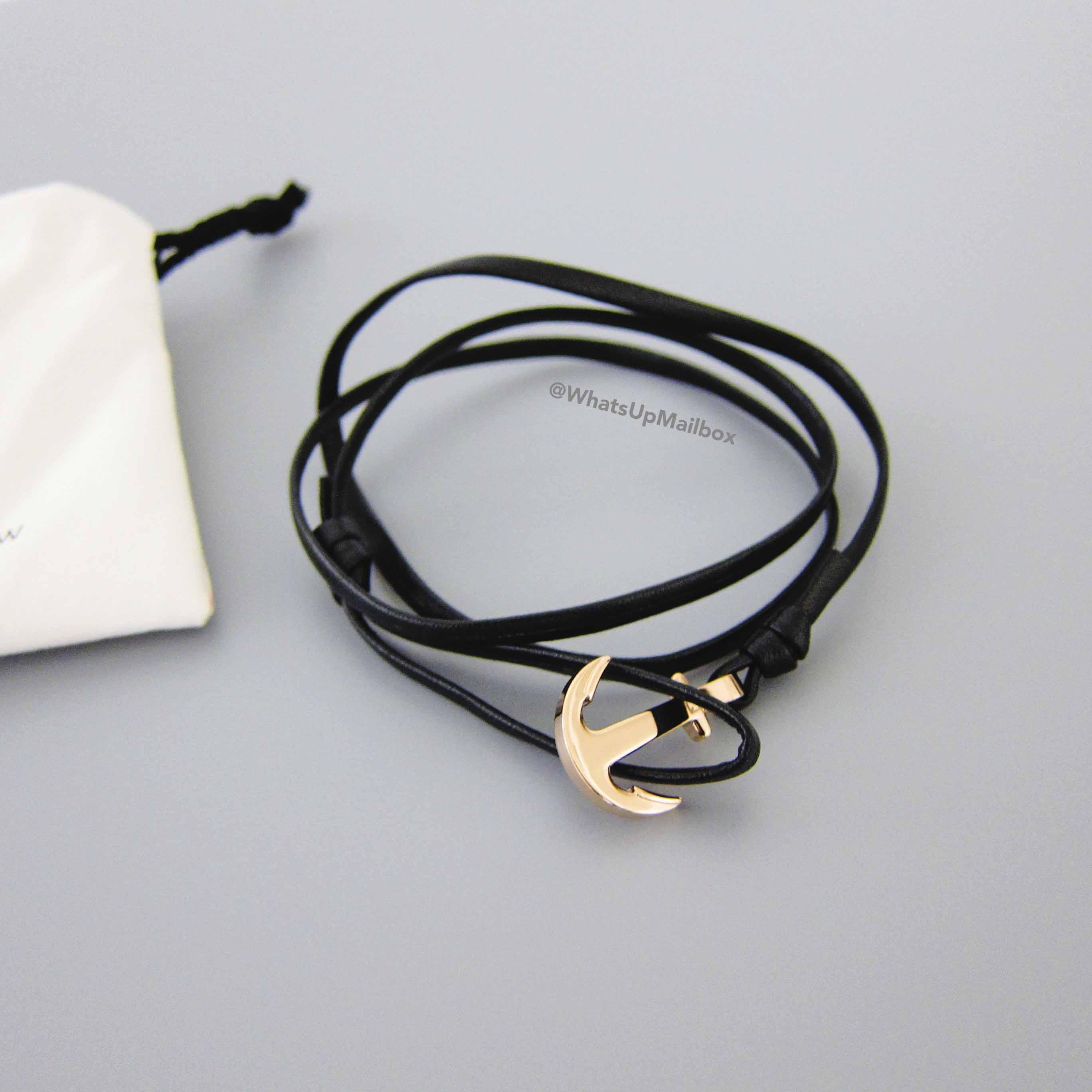 Quinton Shaw Anchor Bracelet