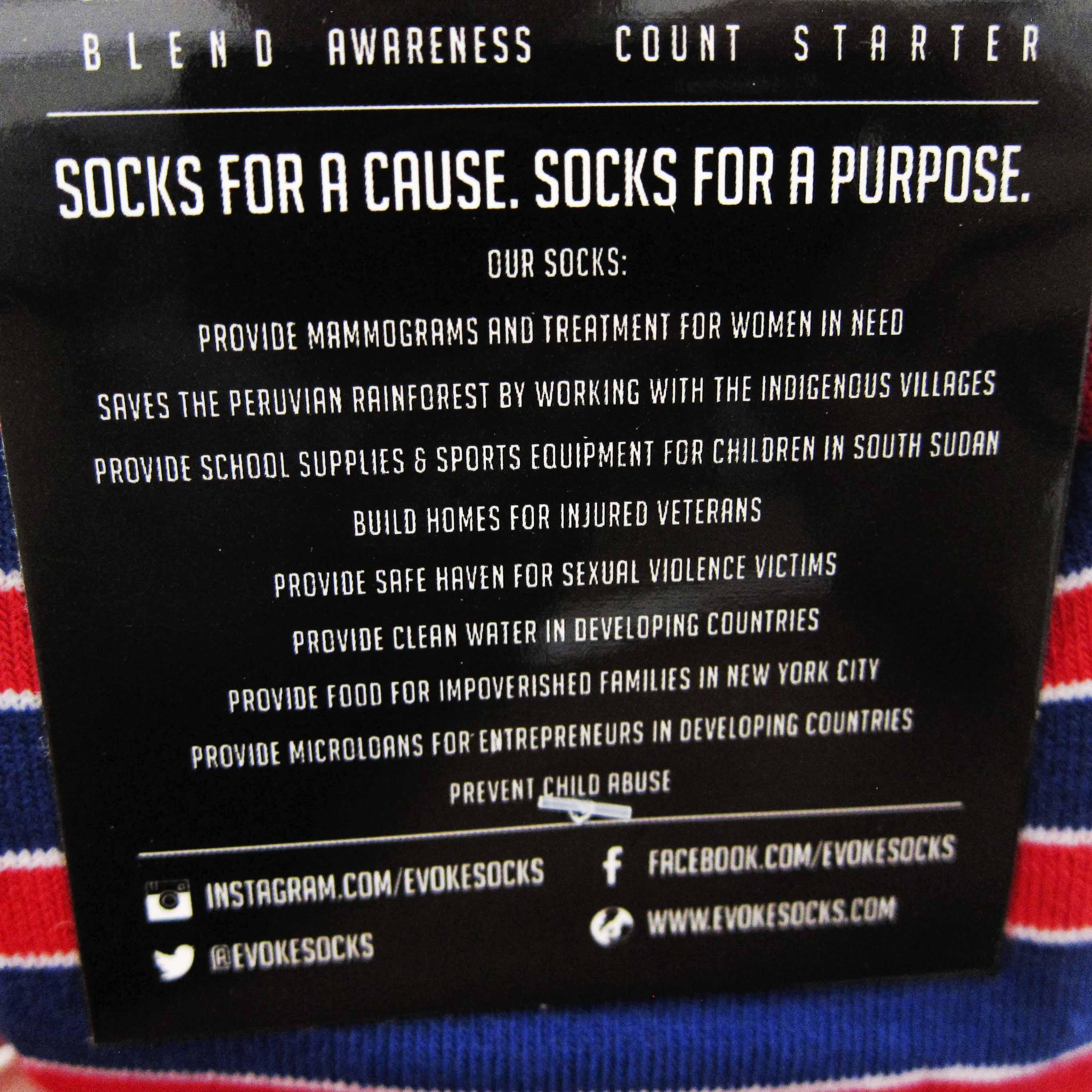 Evoke Patriot Socks