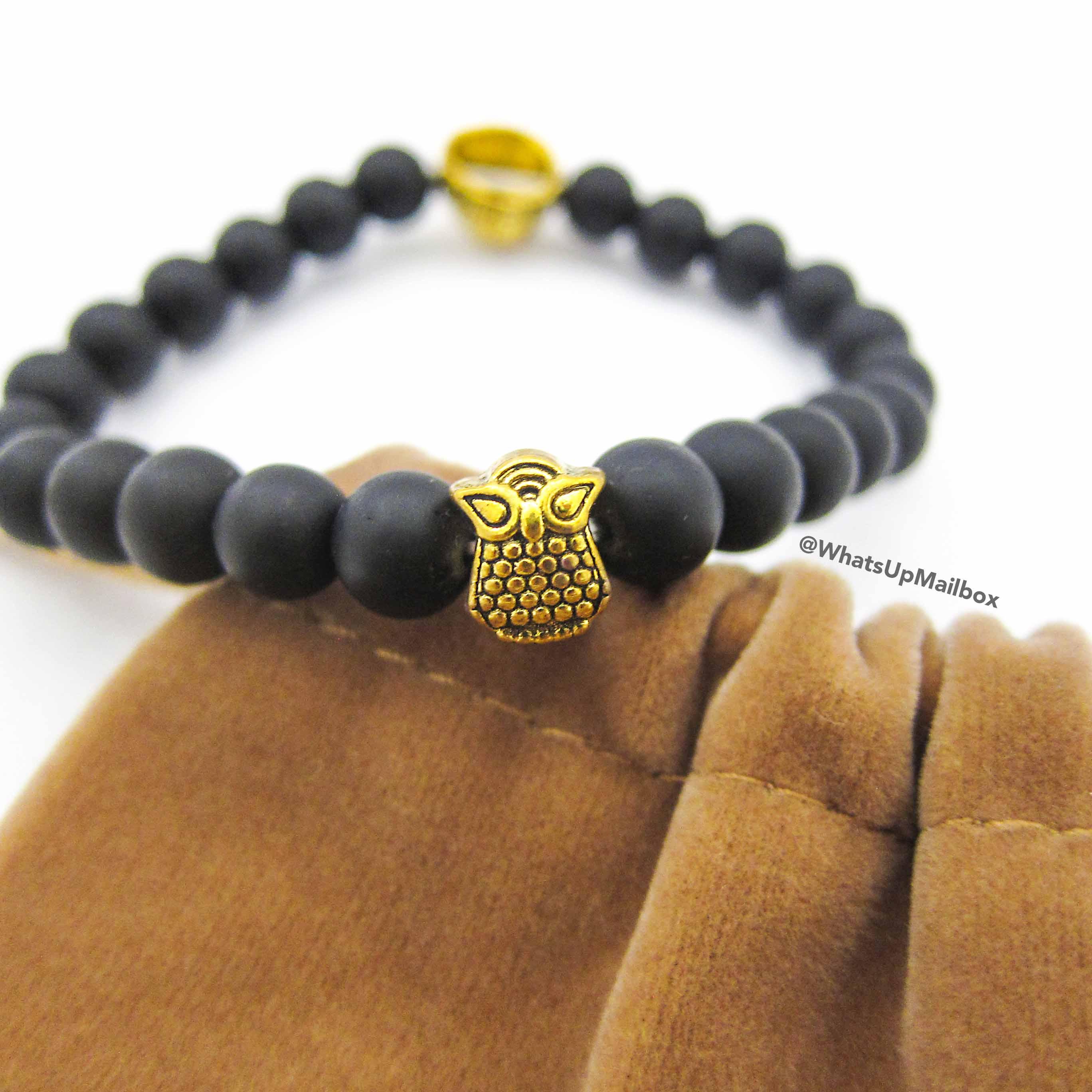 Gentlemen Essentials Lion Head Bracelet