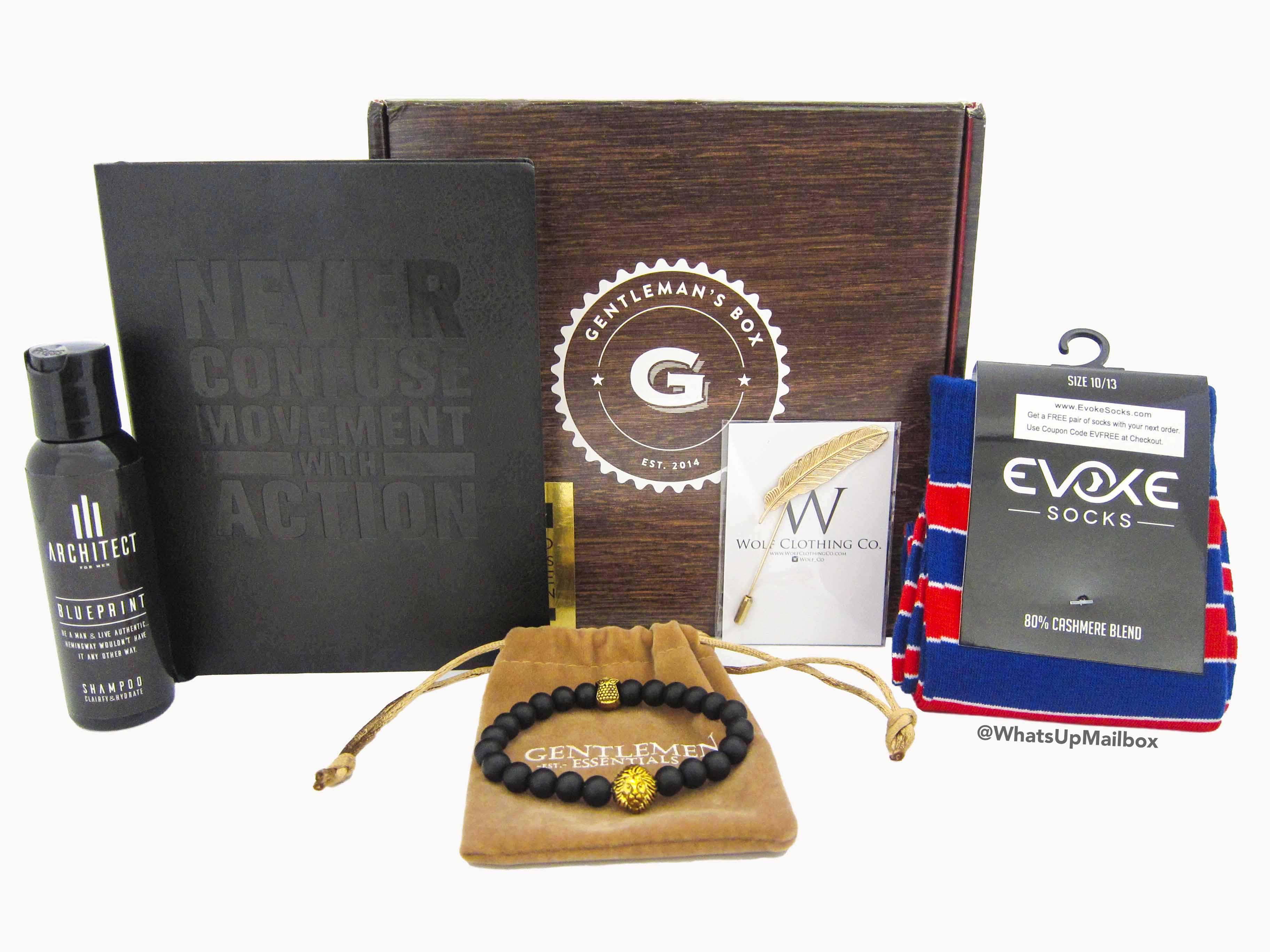 Gentleman's Box September 2016 Items