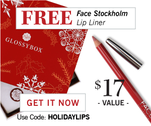 Glossybox Free Gift with Subscription!