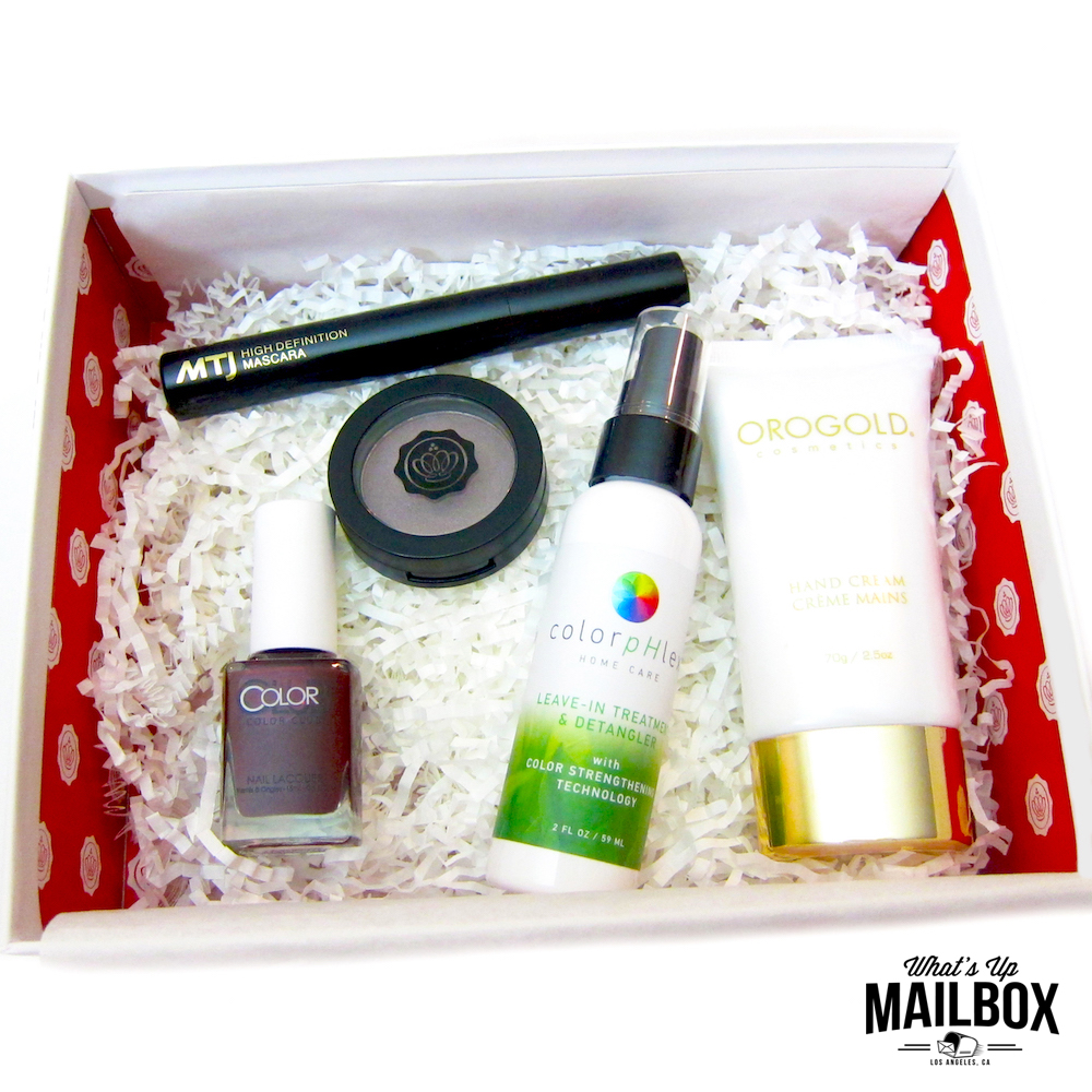 Glossybox December 2015 Items