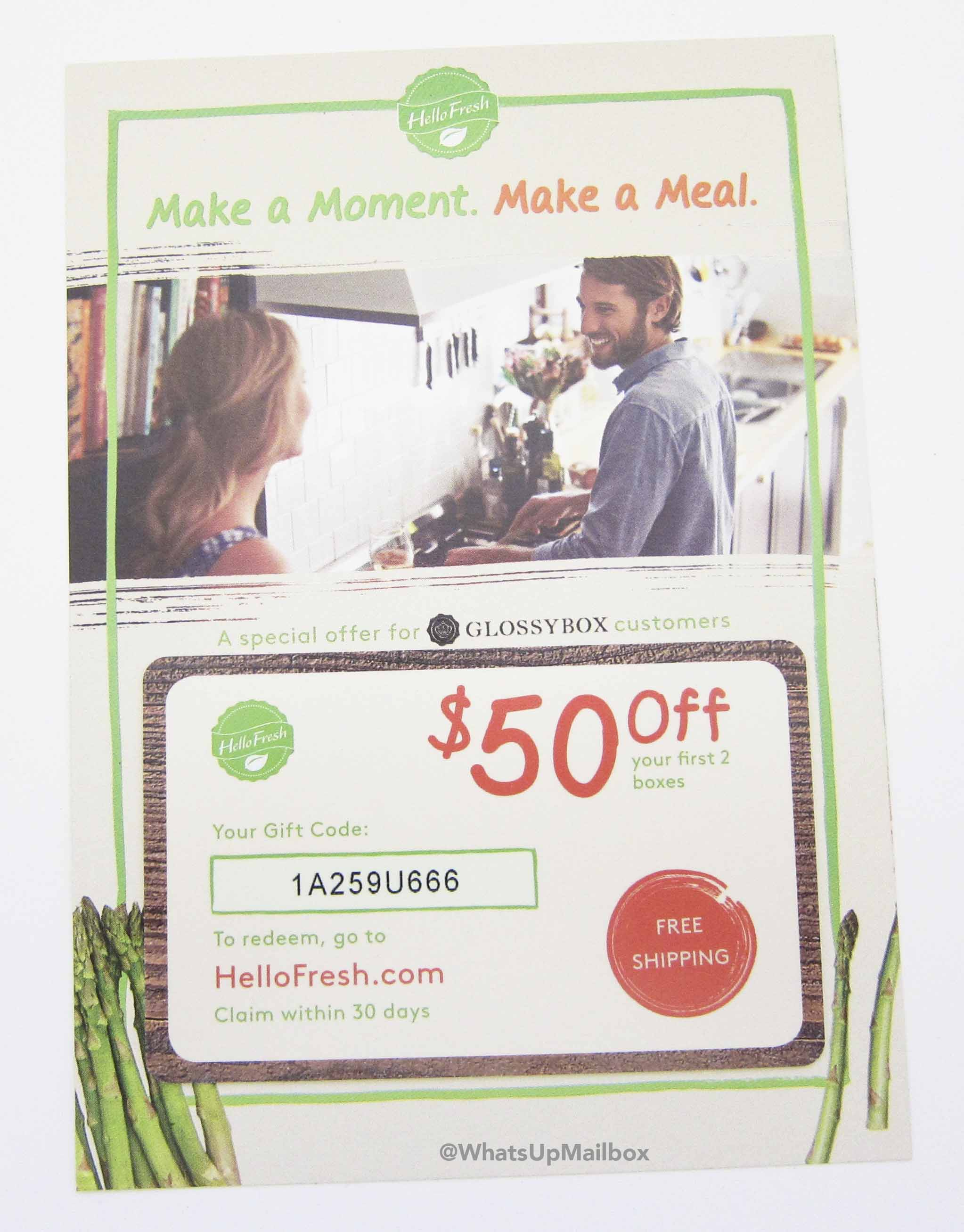 Hello Fresh $50 Gift Card