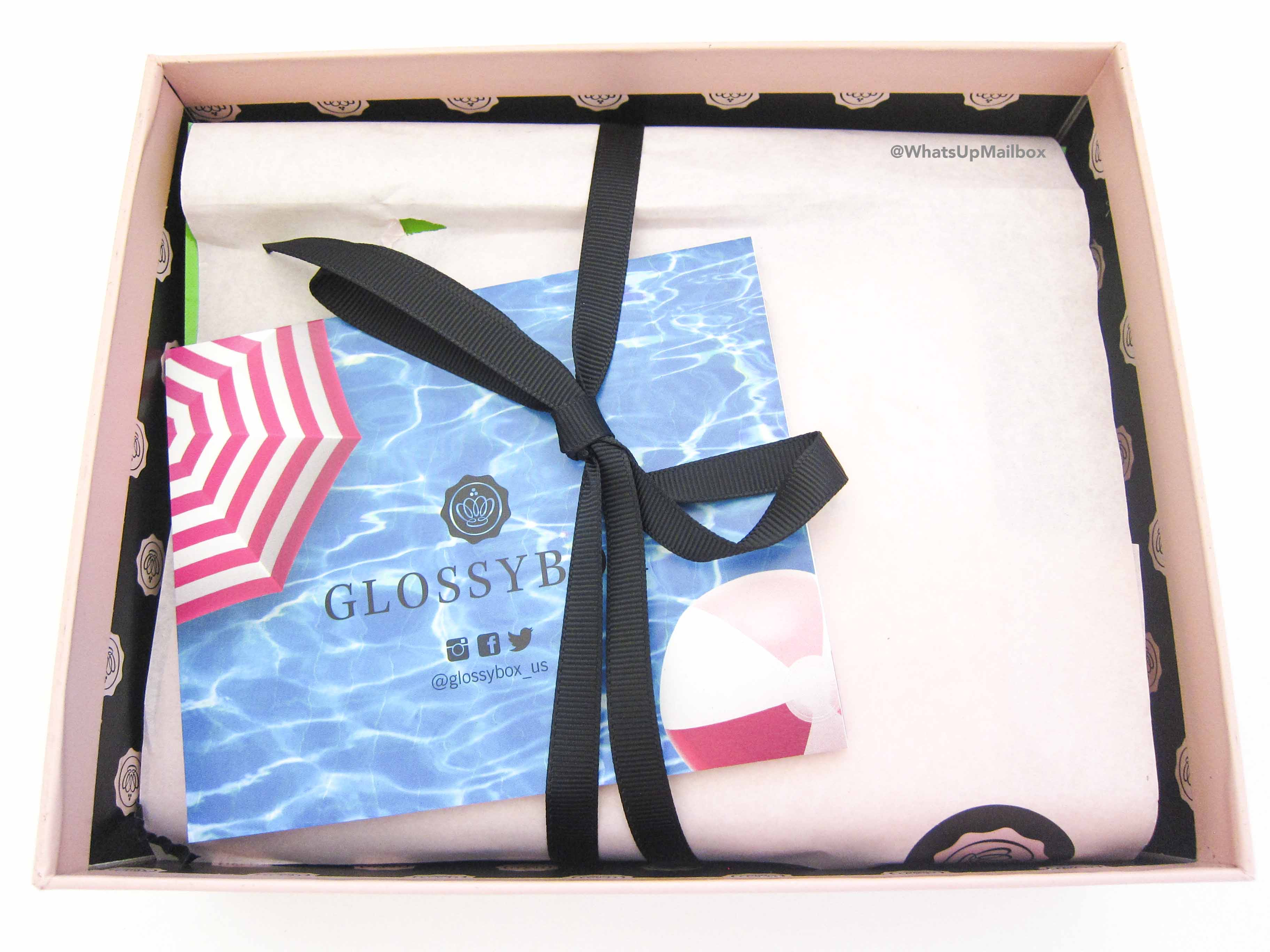 Glossybox July 2016 Open Box