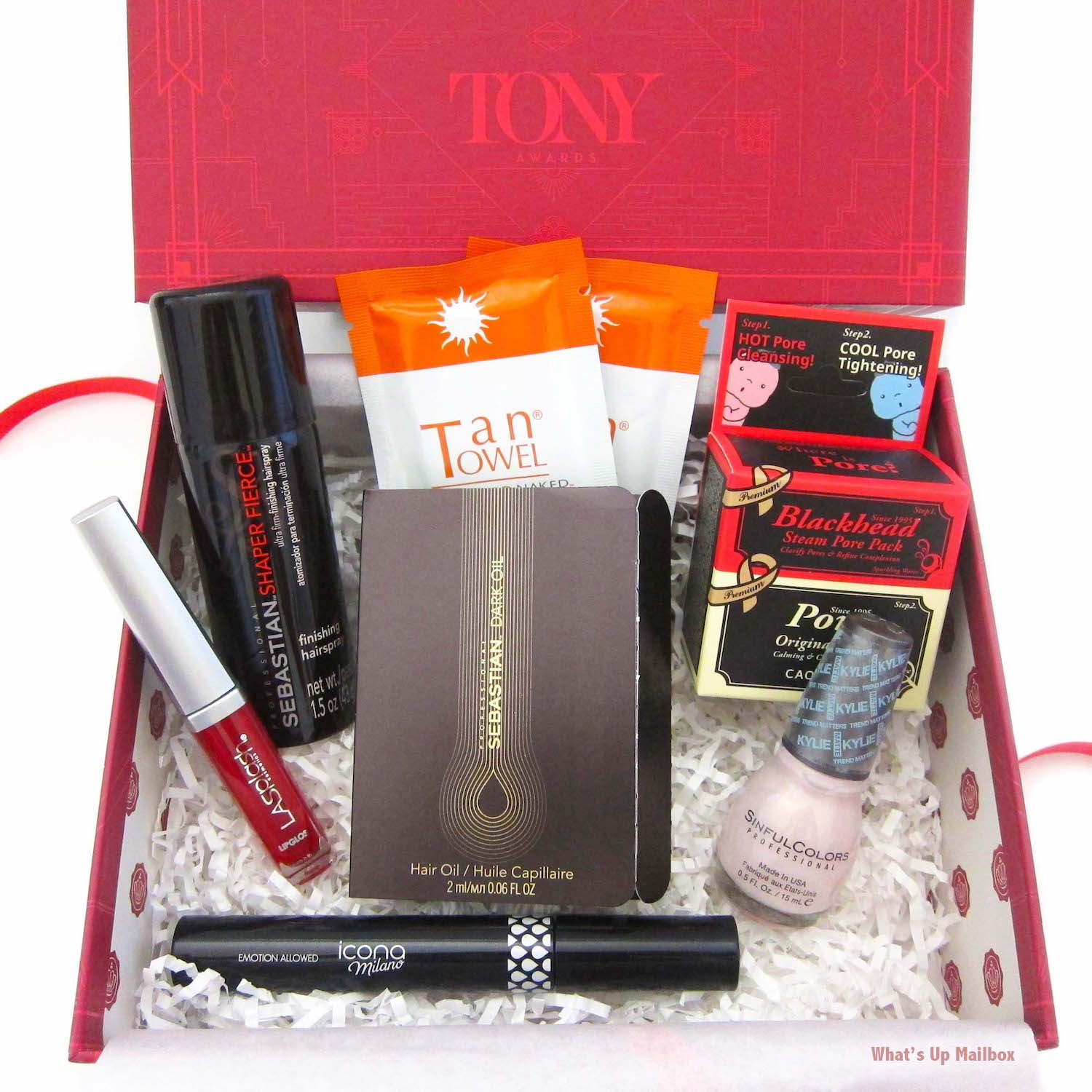 Glossybox x Tony Awards June 2016 Review!