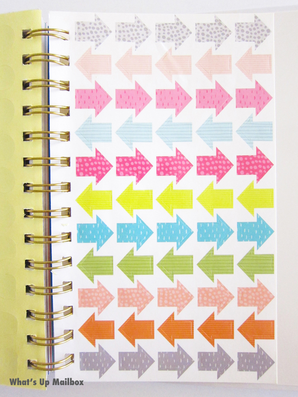 Happy Mail Planner GWP